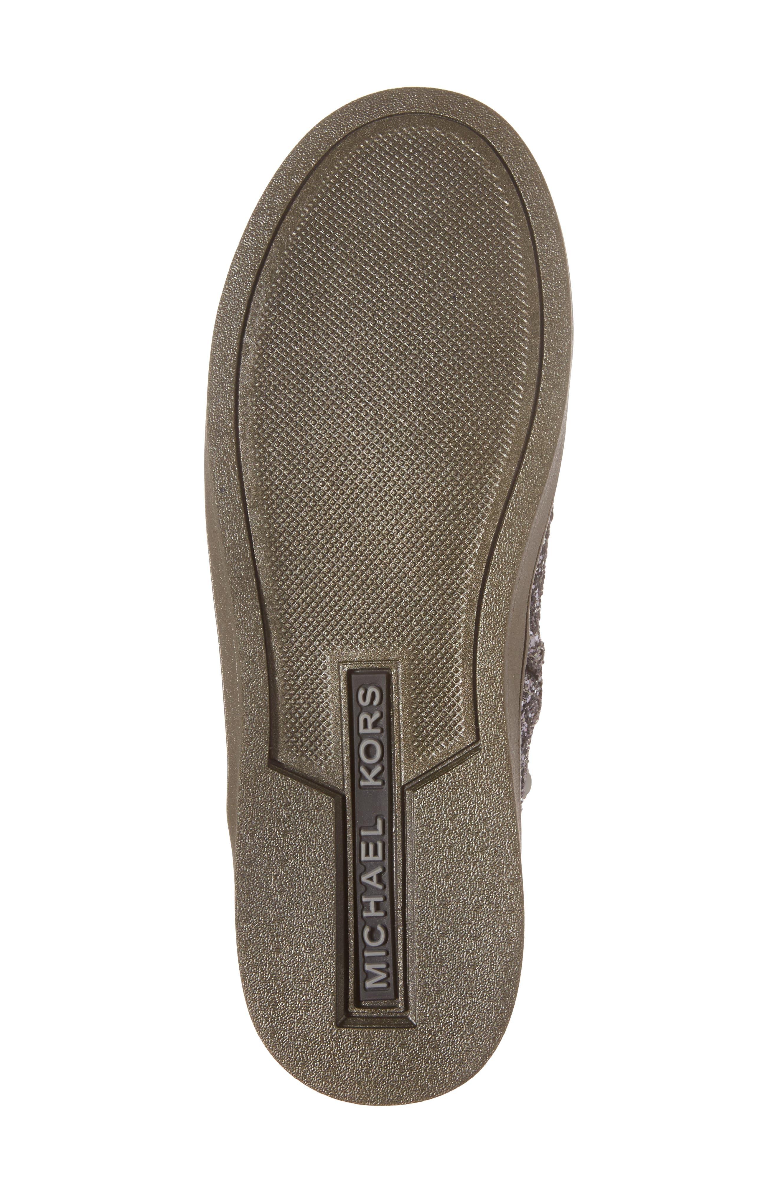 Ollie Rae Glittery Sneaker Boot,                             Alternate thumbnail 6, color,                             040