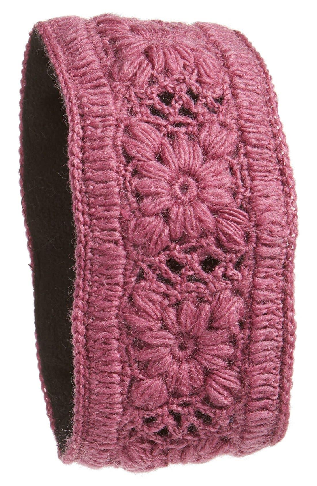 Crochet Ear Warmer Headband,                             Main thumbnail 9, color,