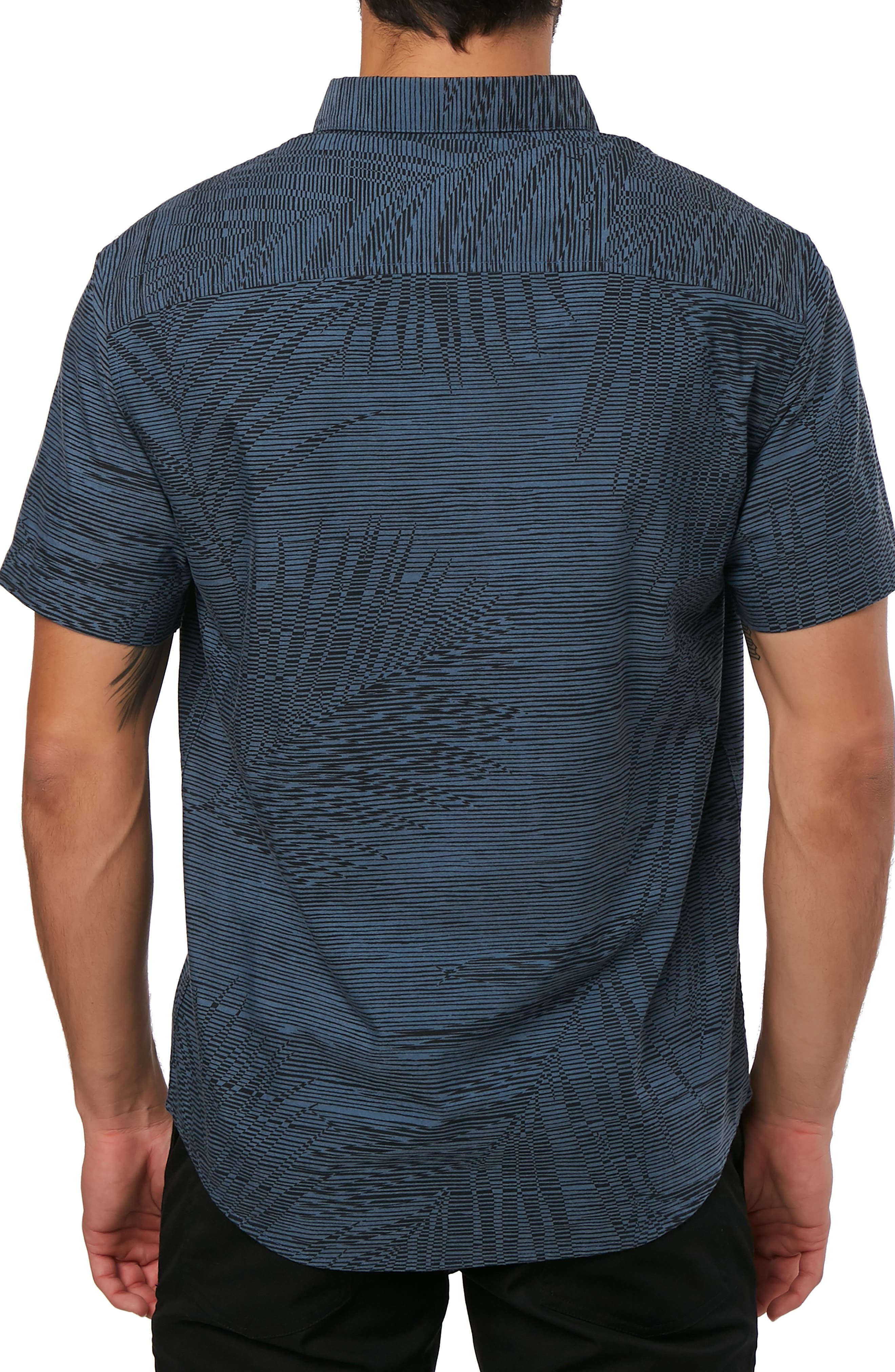 Fronzarelli Woven Shirt,                             Alternate thumbnail 2, color,                             DARK BLUE