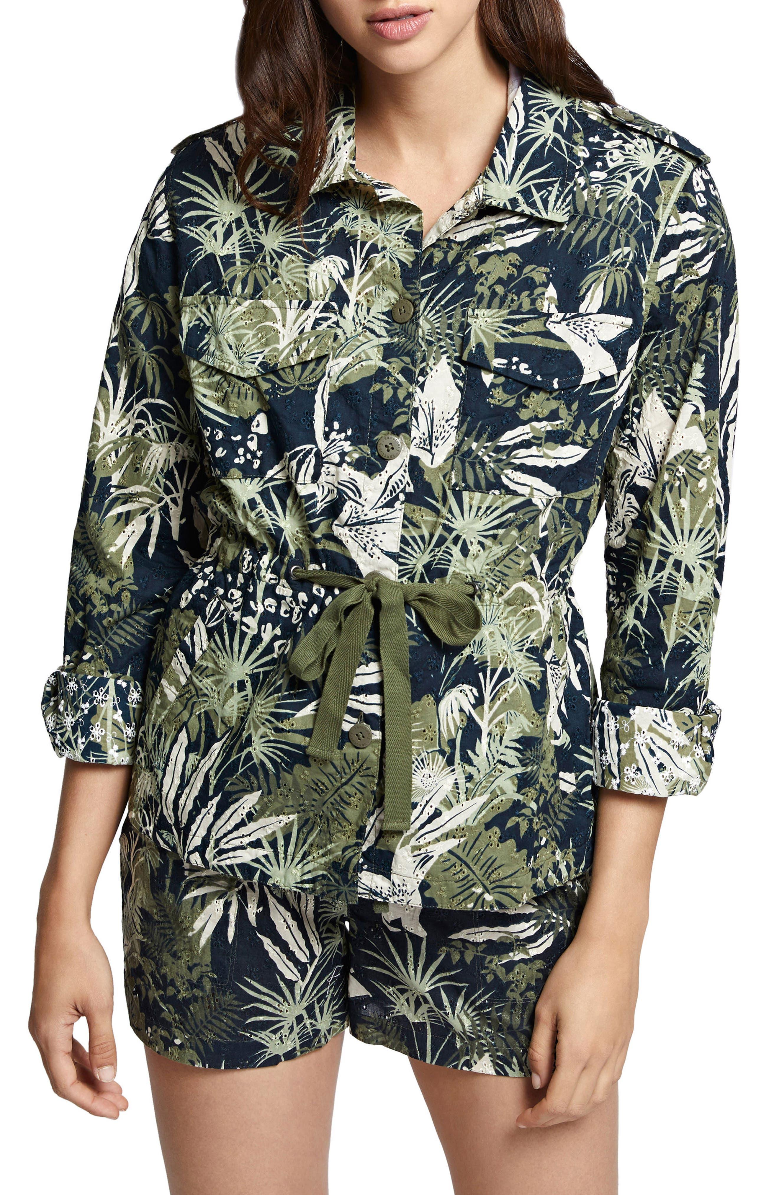 Island Fever Eyelet Jacket,                         Main,                         color,