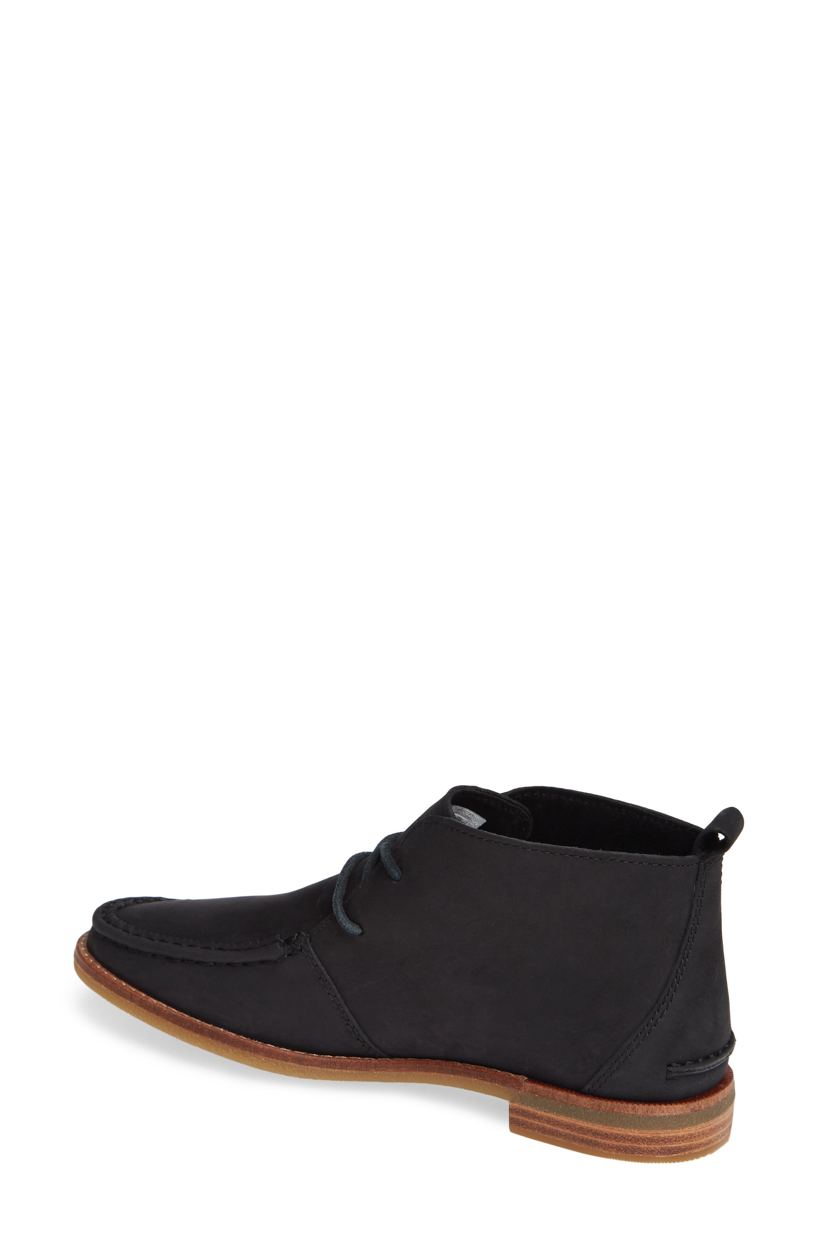 Seaport Tahoe Chukka Bootie,                             Alternate thumbnail 2, color,                             BLACK SUEDE