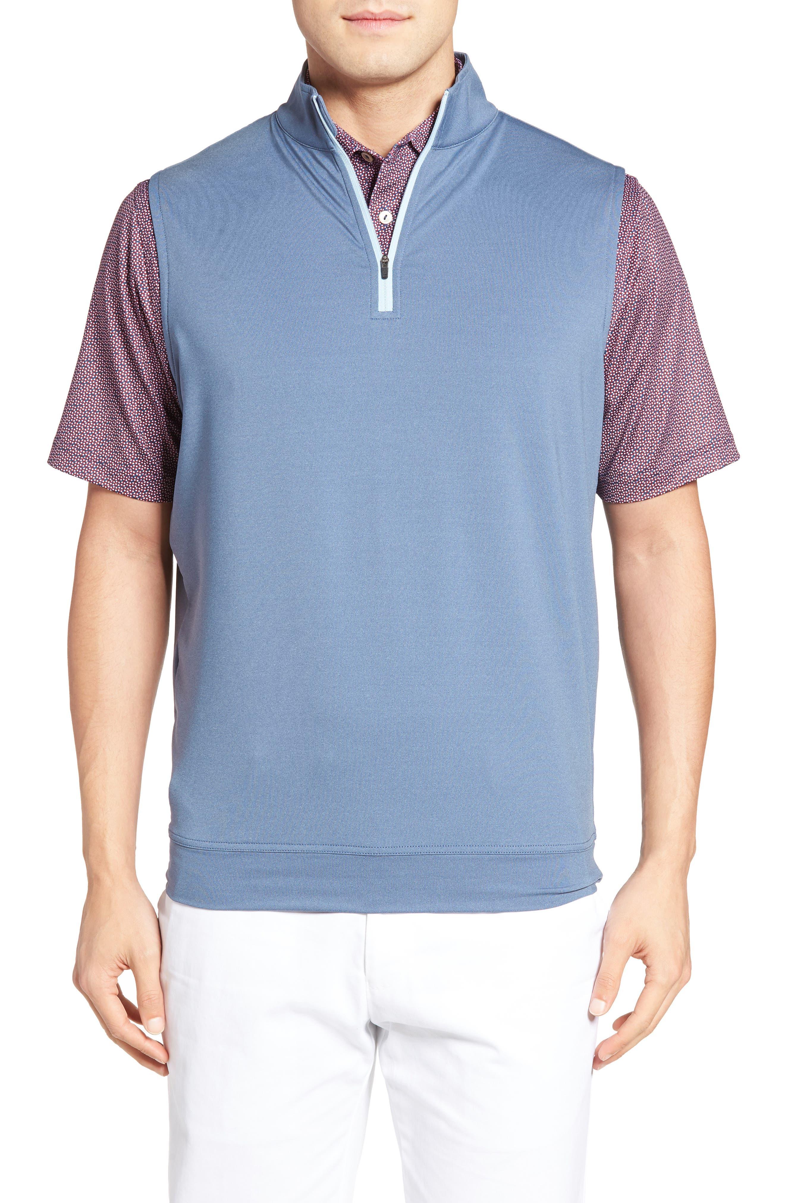 Galway Quarter Zip Vest, Main, color, 402
