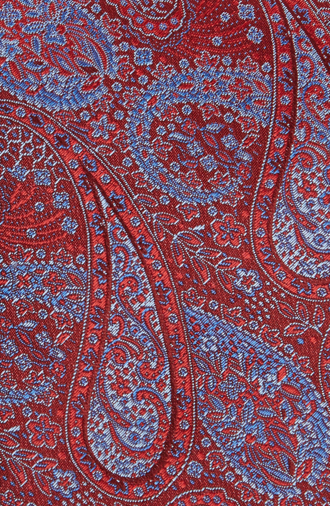 Paisley Silk Tie,                             Alternate thumbnail 7, color,