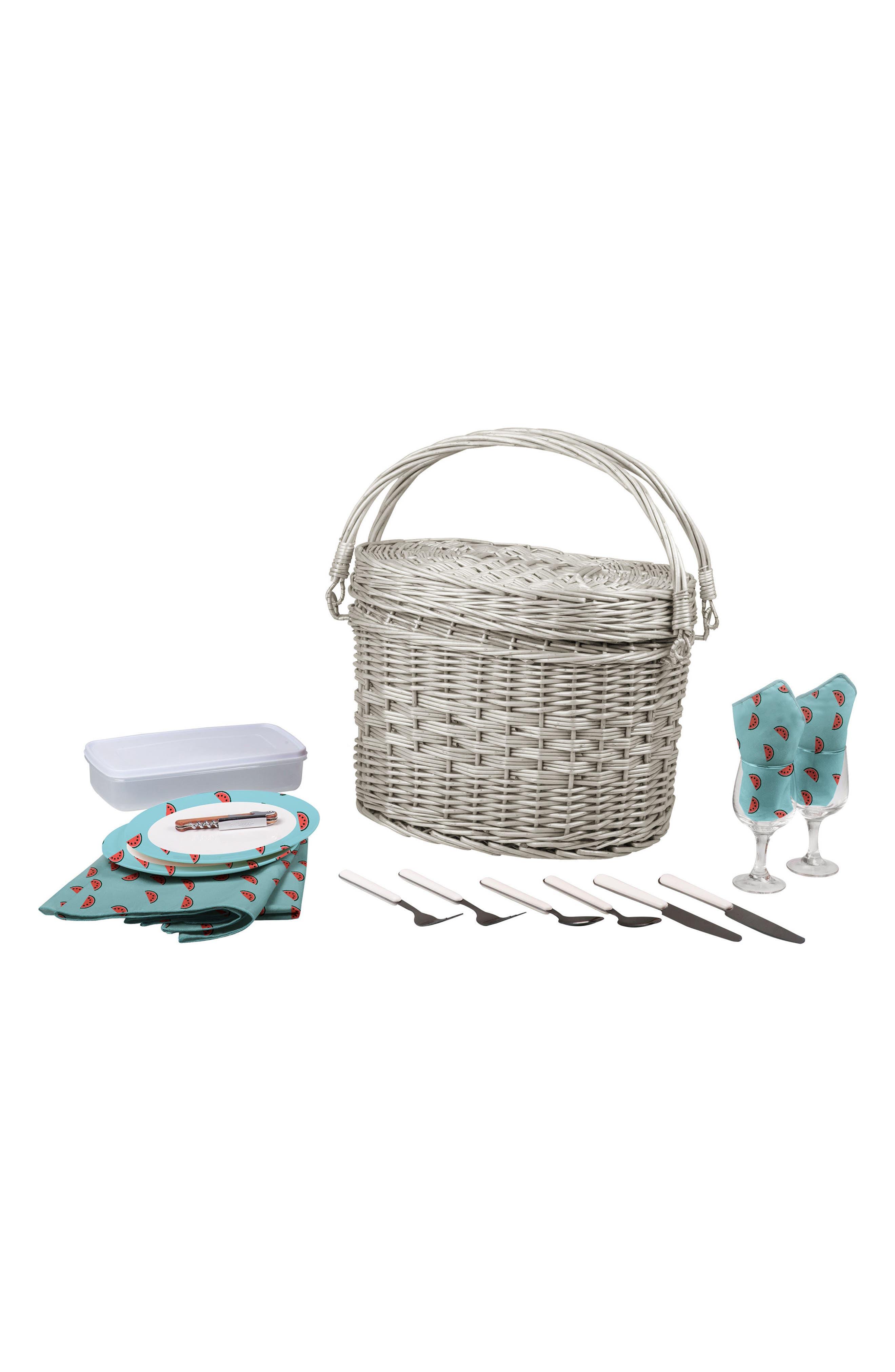 Romance Picnic Basket,                         Main,                         color, 400