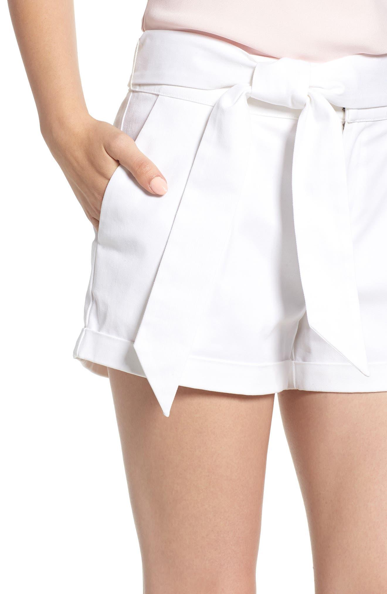 Yelinda Shorts,                             Alternate thumbnail 4, color,                             100