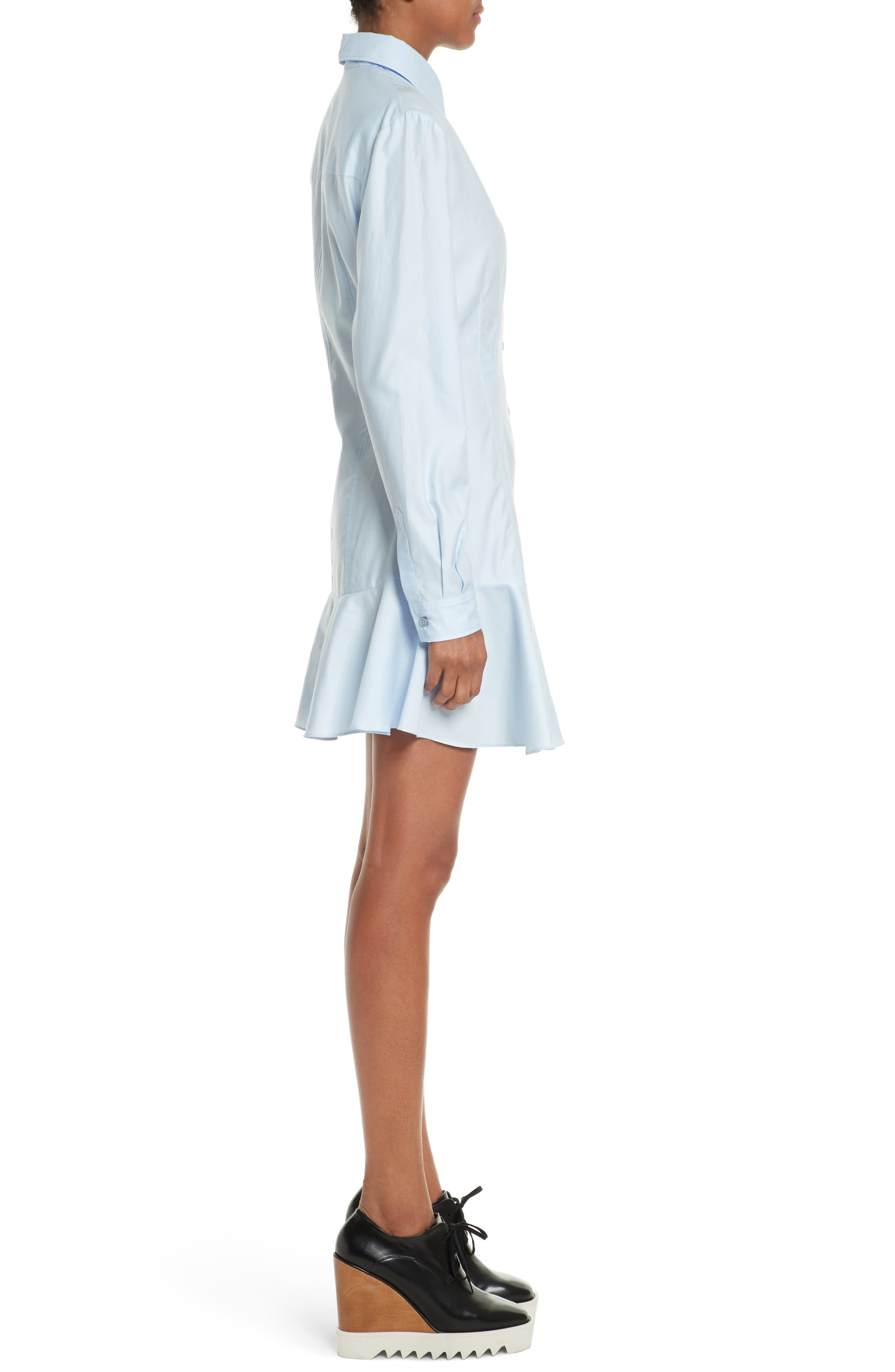 Carina Cotton Poplin Shirtdress,                             Alternate thumbnail 3, color,                             474