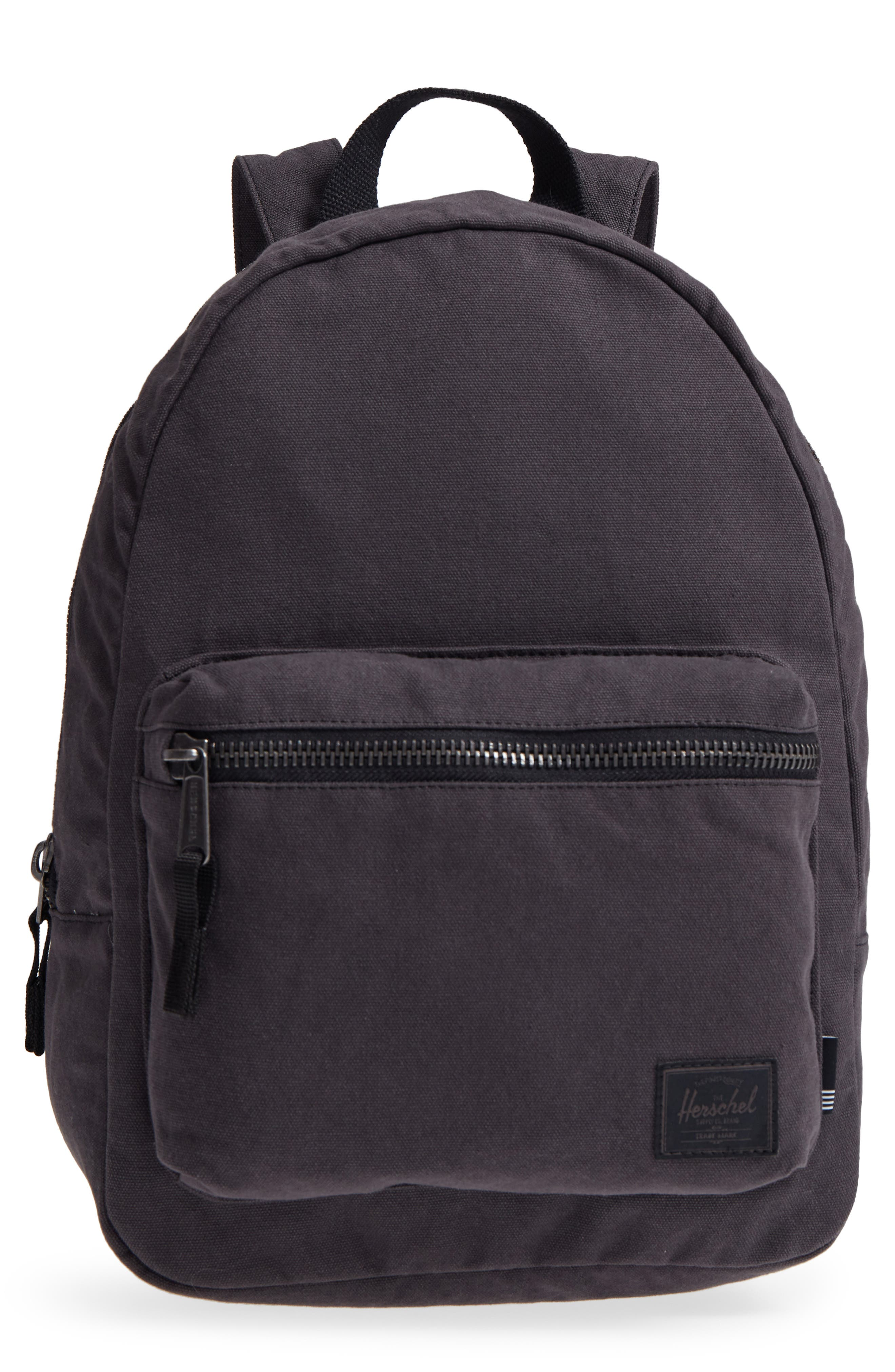X-Small Grove Cotton Canvas Backpack,                             Main thumbnail 1, color,                             001
