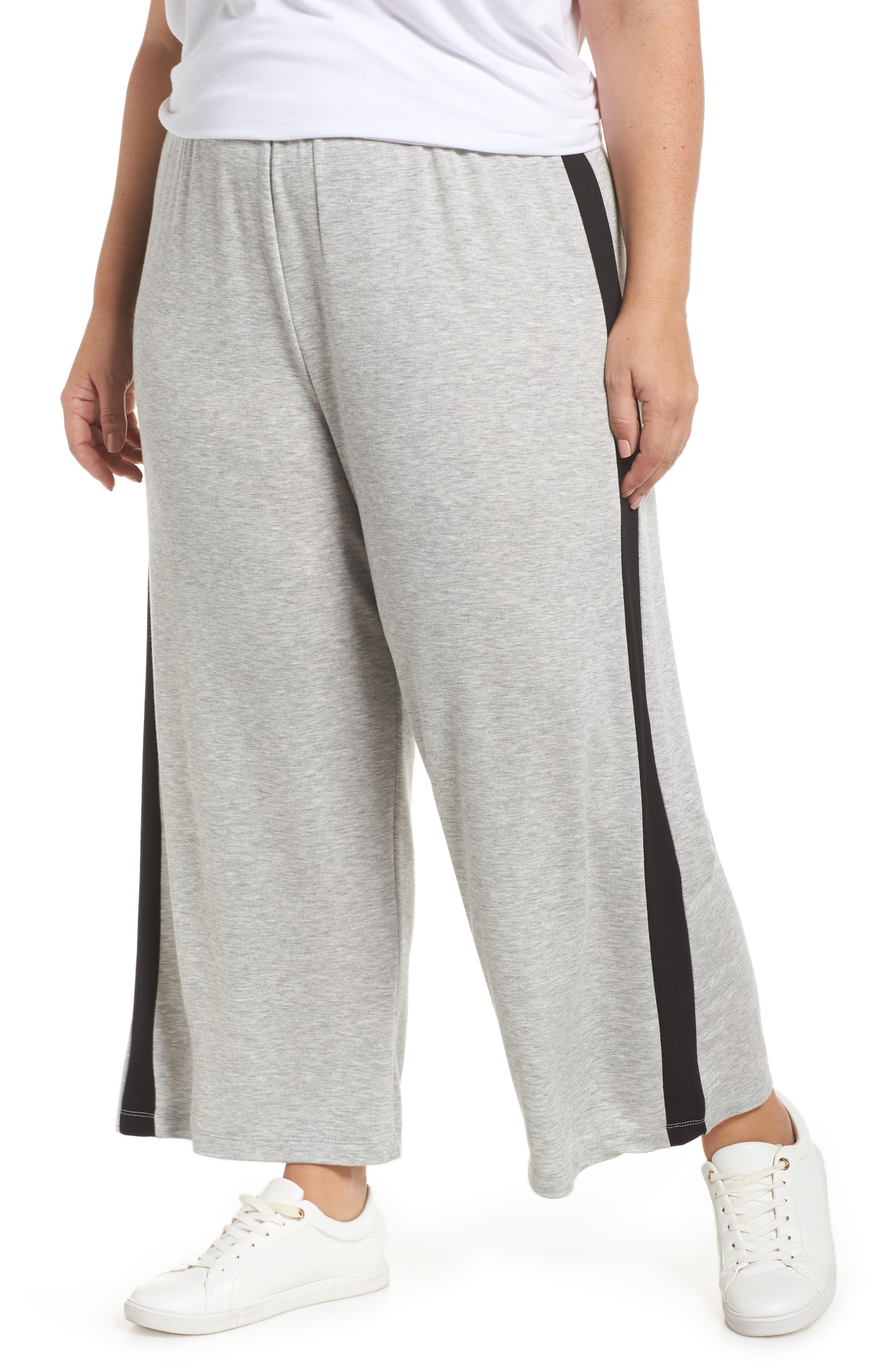 BP. Sport High Rise Wide Leg Crop Pants, Main, color, 021