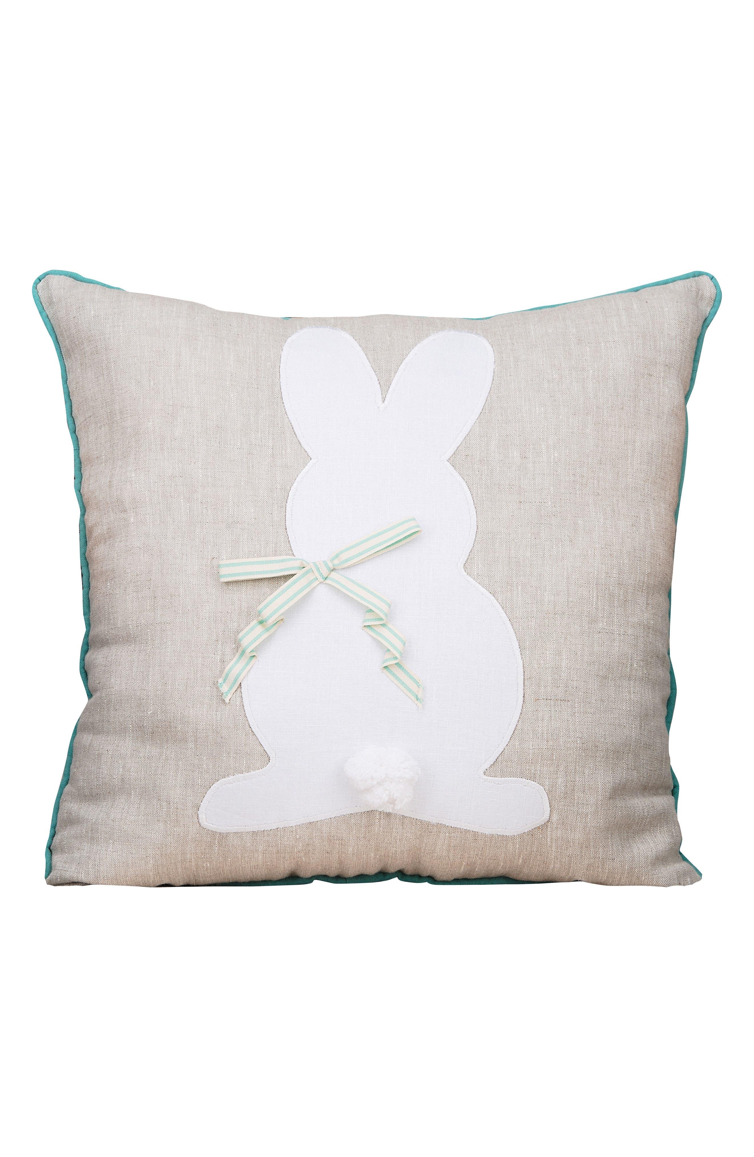 Glory Haux Bunny Pillow,                         Main,                         color, 250