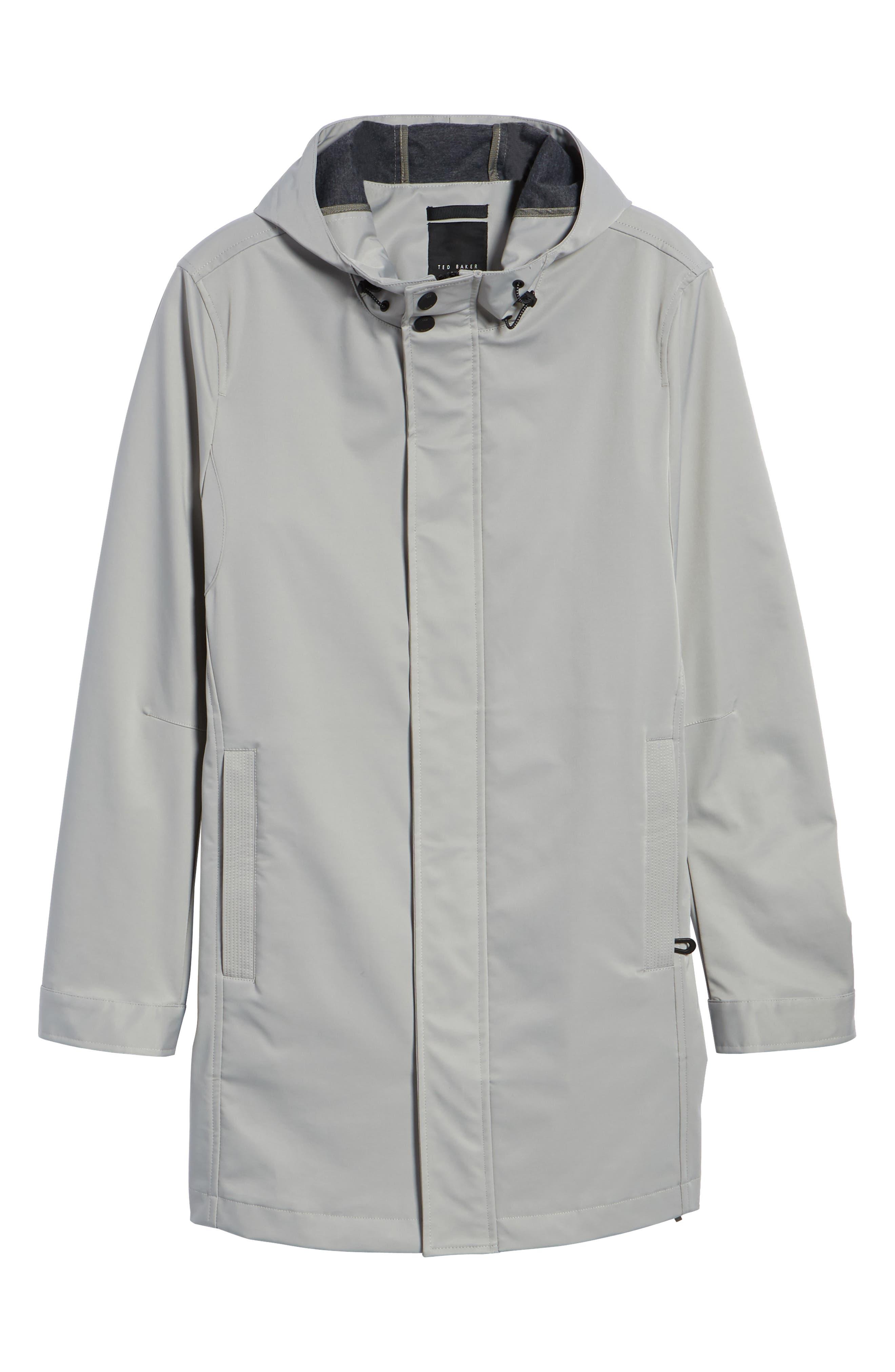 Verner Hooded Mac Jacket,                             Alternate thumbnail 5, color,                             250