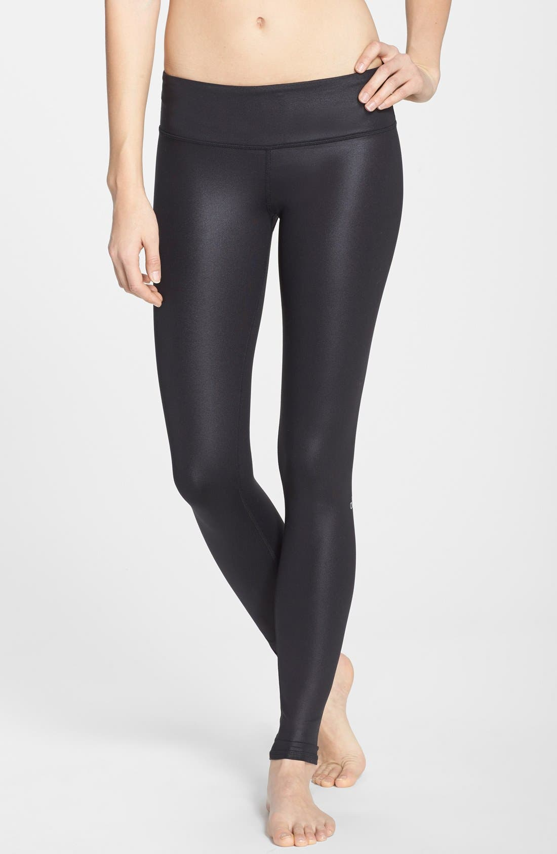 'Airbrushed' Leggings,                             Main thumbnail 1, color,                             001
