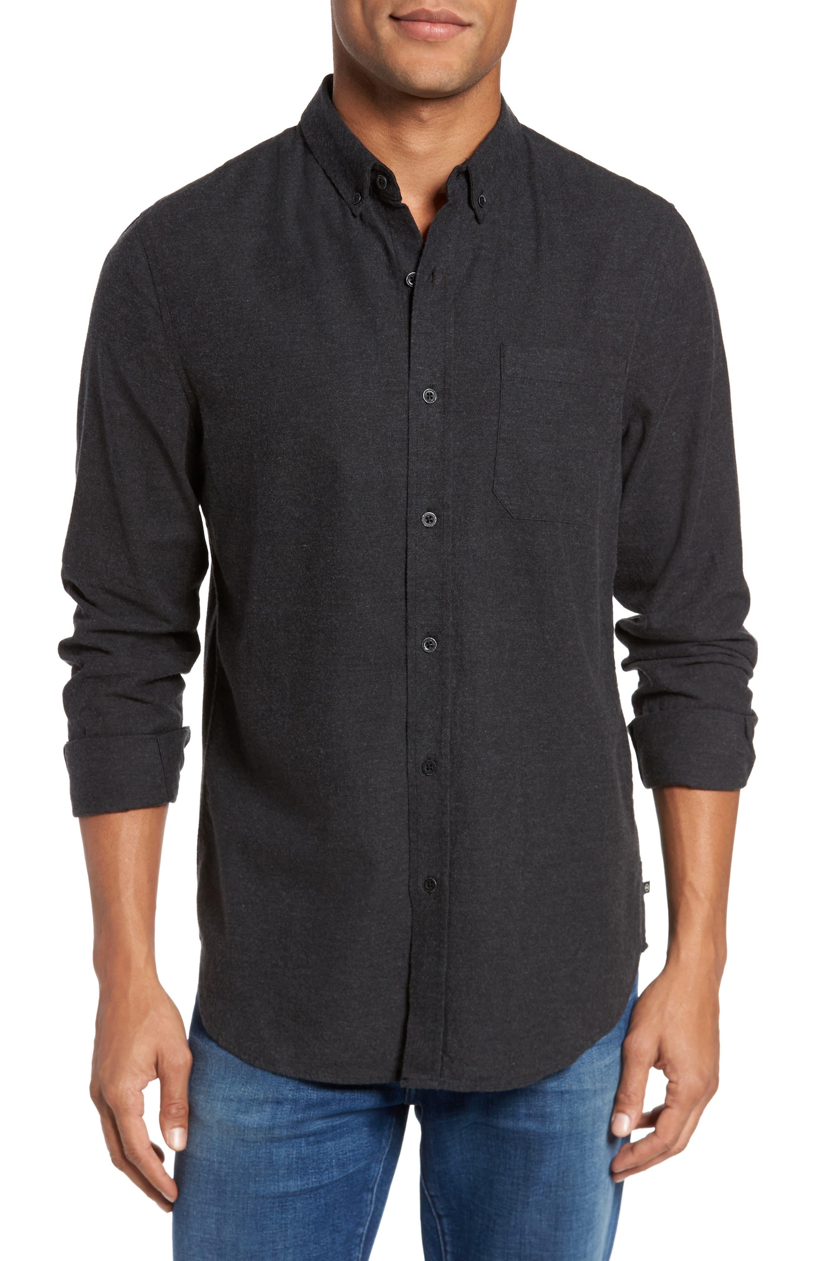 AG Caleb Slim Fit Sport Shirt, Main, color, 020