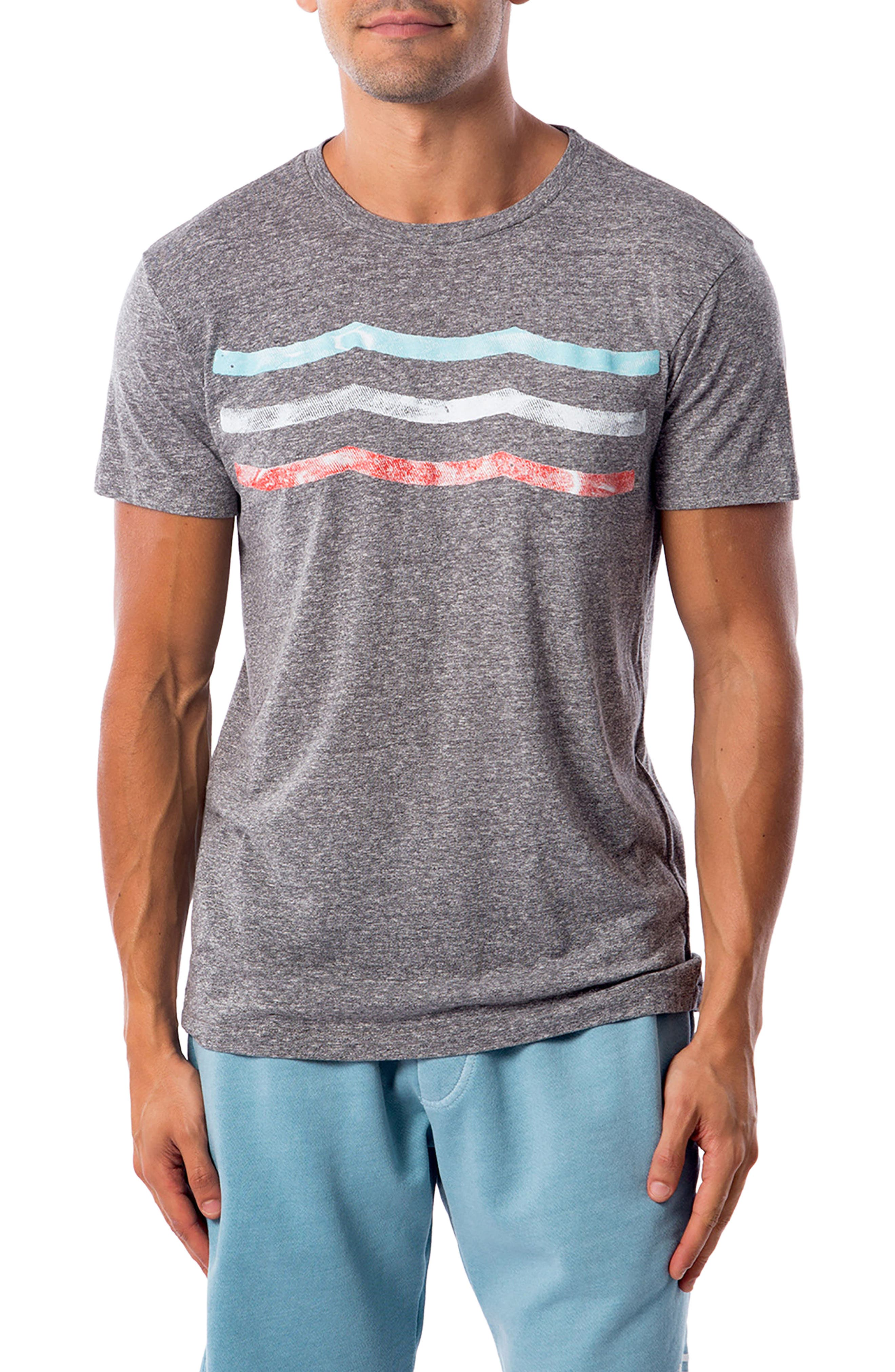 Vintage Waves T-Shirt,                         Main,                         color, 060