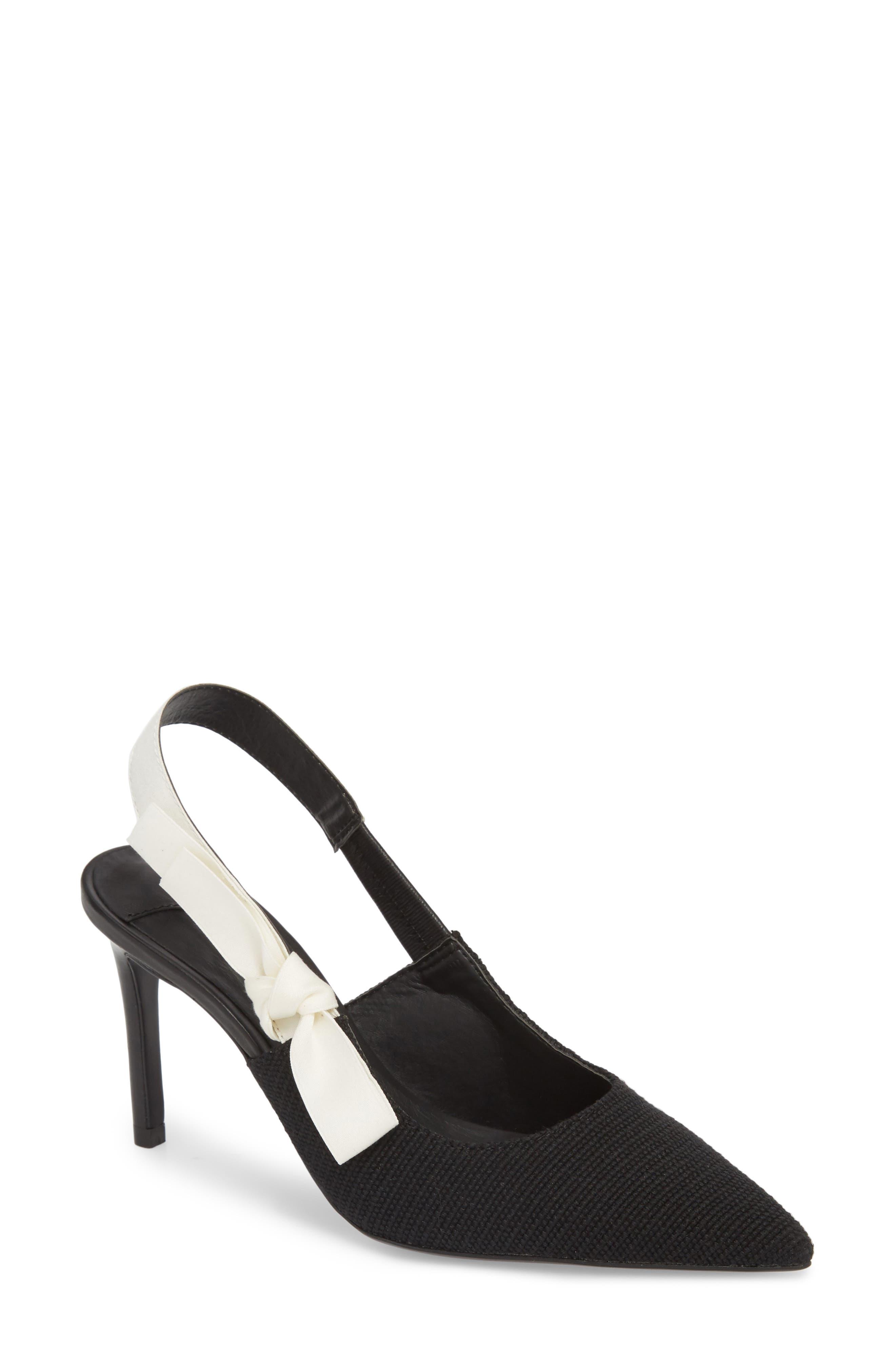 Evita Sandal,                         Main,                         color, BLACK FABRIC