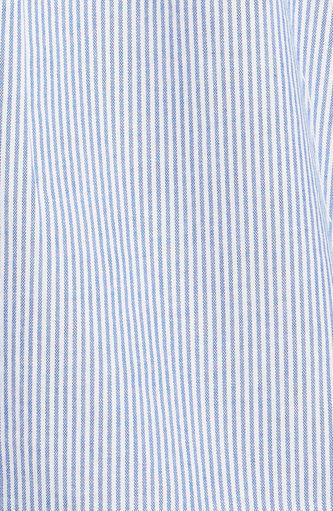 Crysta Tie Front Shirt,                             Alternate thumbnail 5, color,                             473