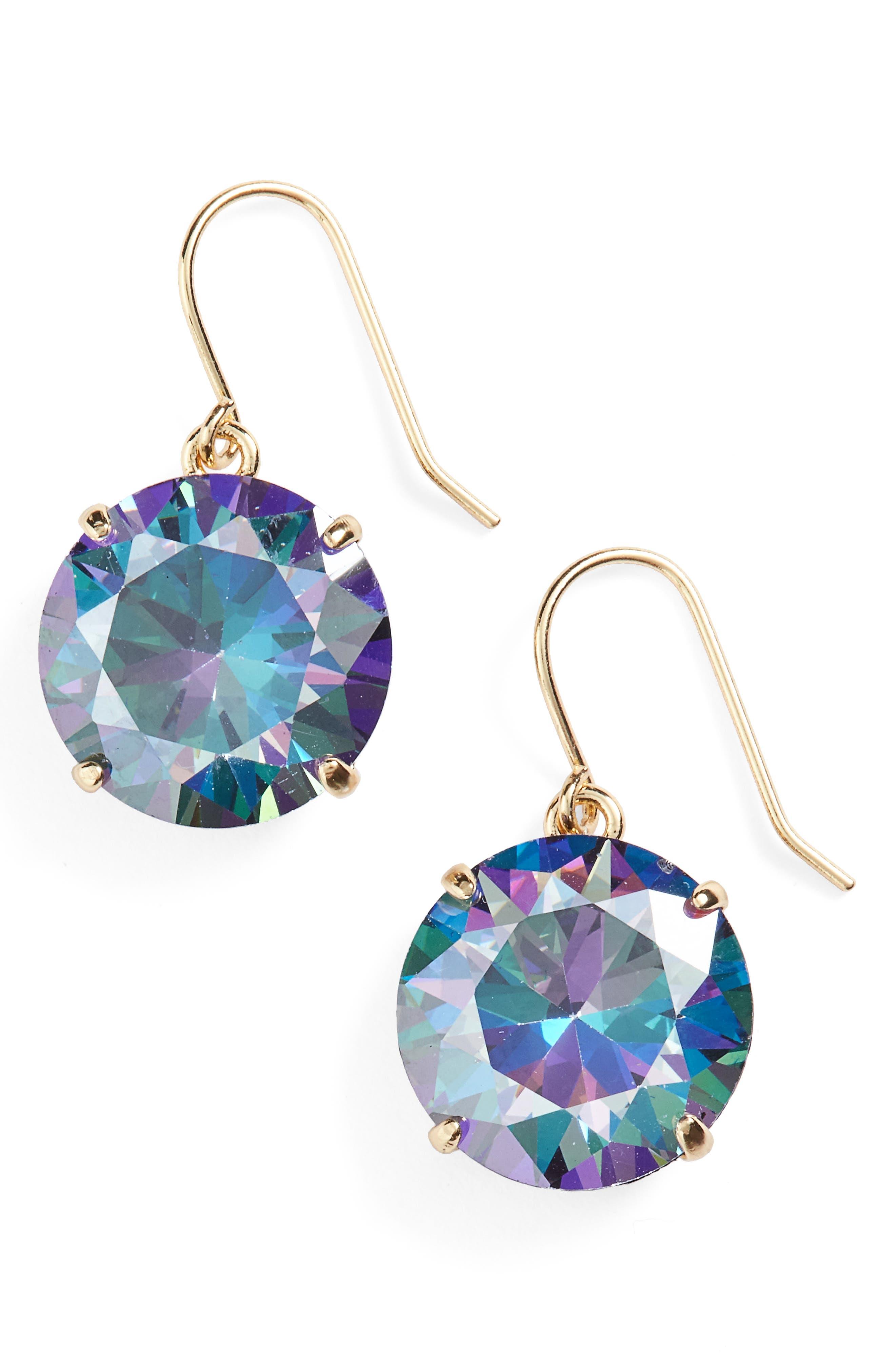 'shine on' drop earrings,                             Main thumbnail 1, color,                             001