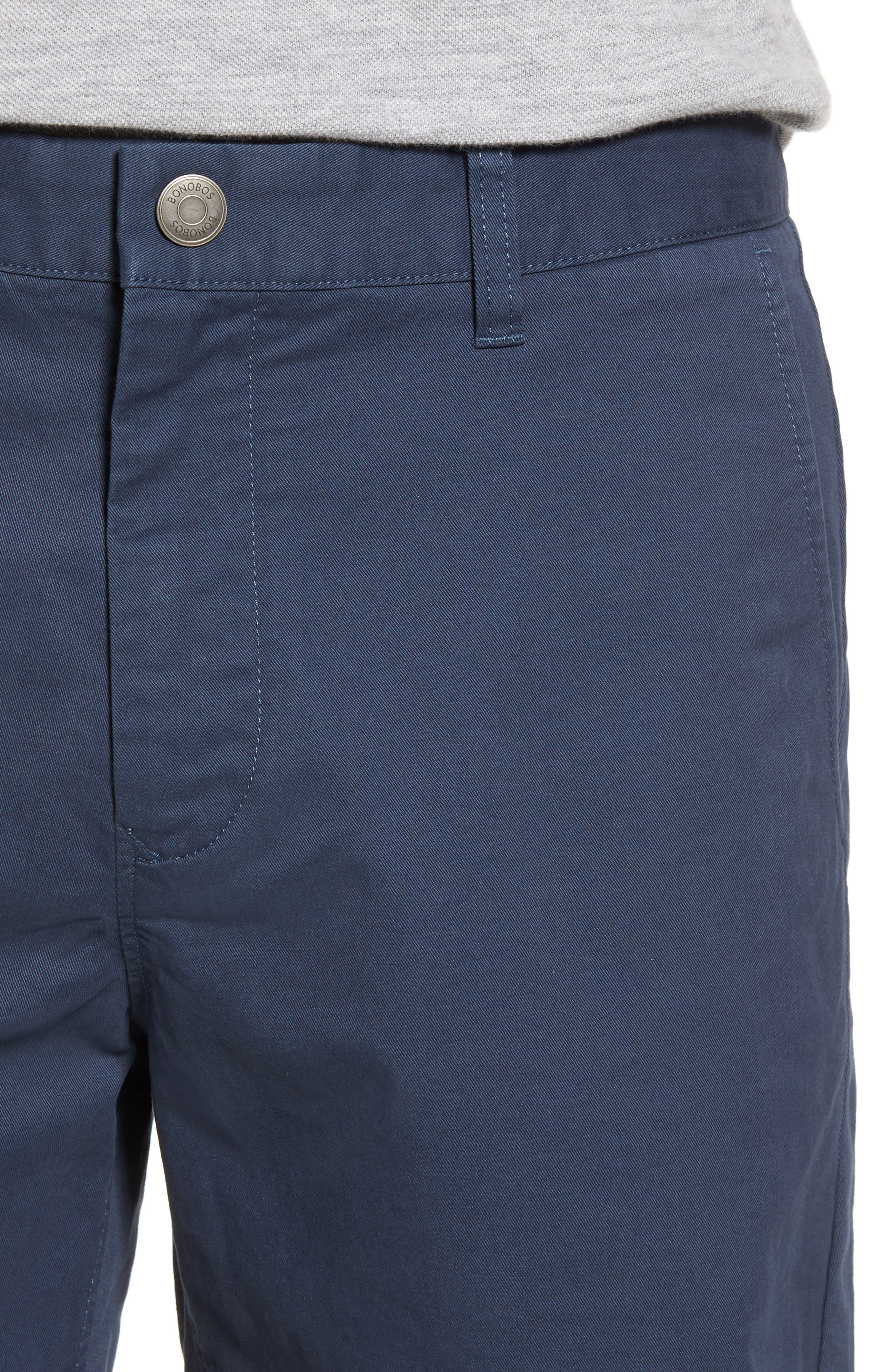 Stretch Washed Chino 5-Inch Shorts,                             Alternate thumbnail 96, color,