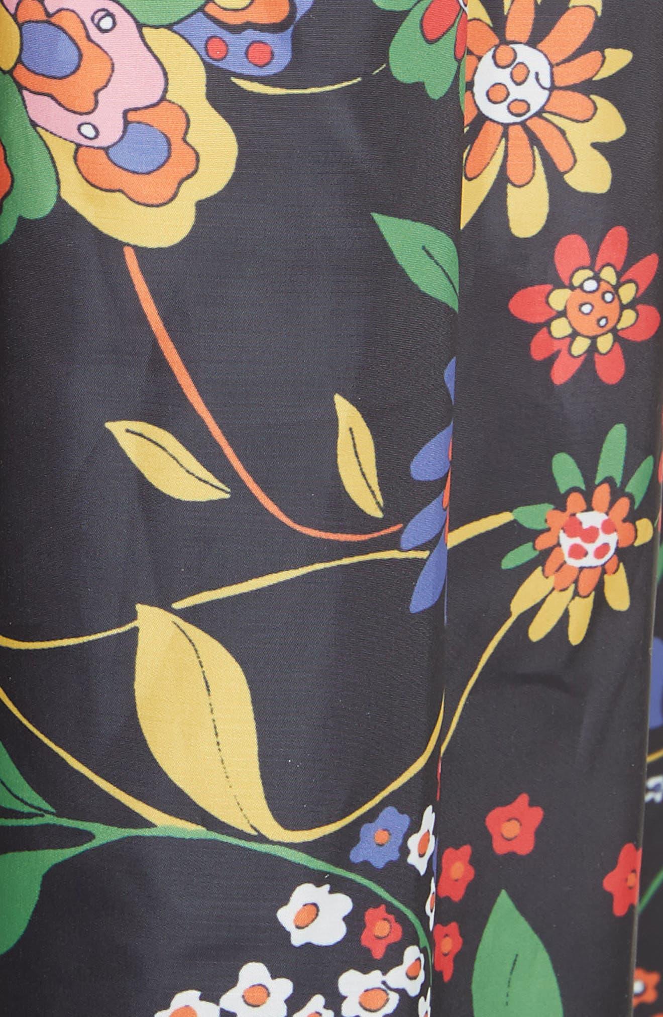Print Tech Floral Skirt,                             Alternate thumbnail 5, color,                             402
