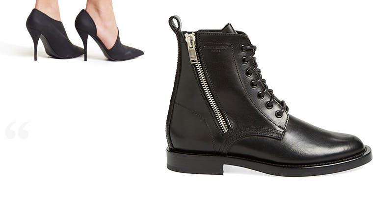 Designer clothing, handbags and shoes