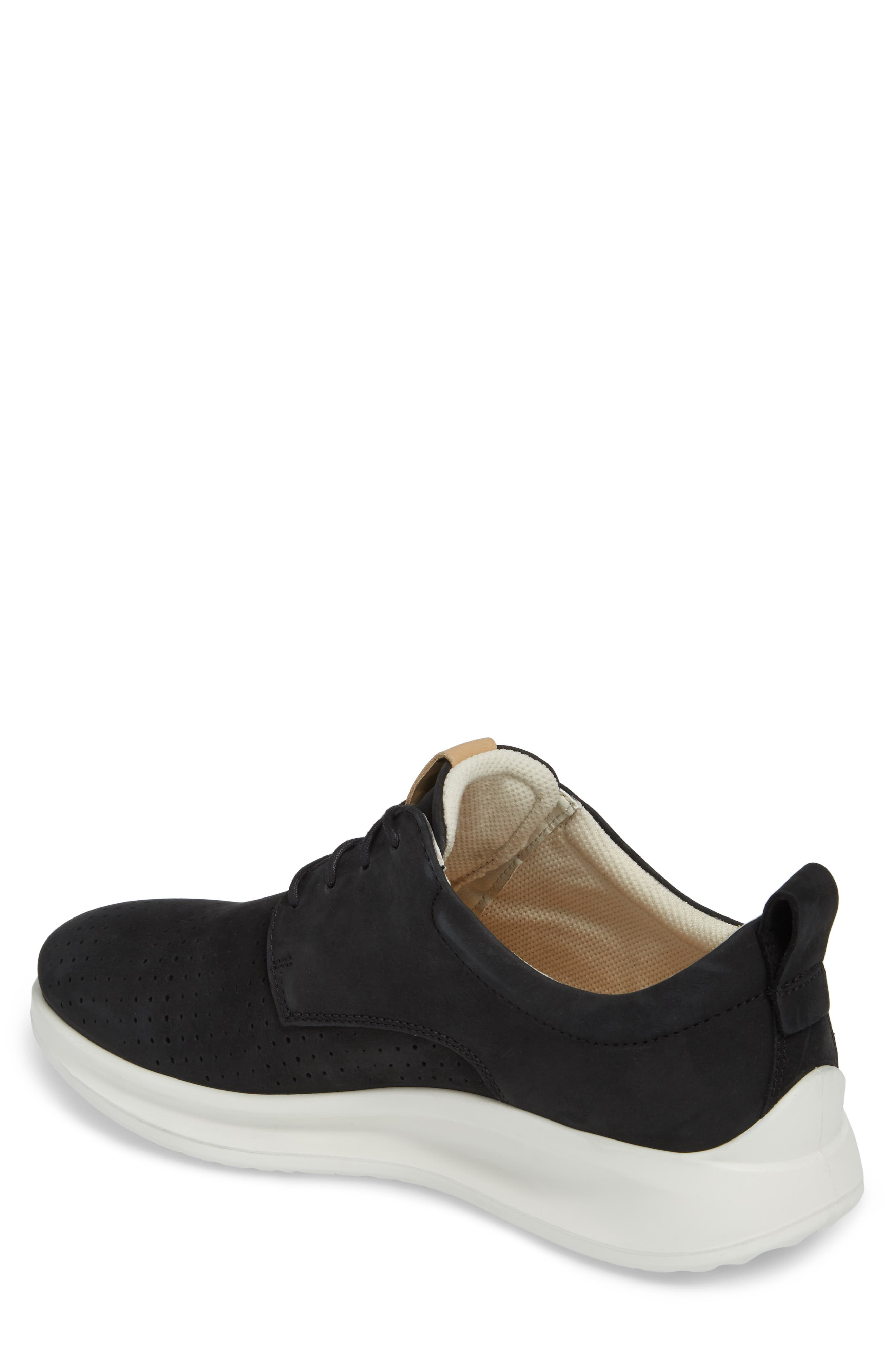 ECCO,                             Aquet Sneaker,                             Alternate thumbnail 2, color,                             007