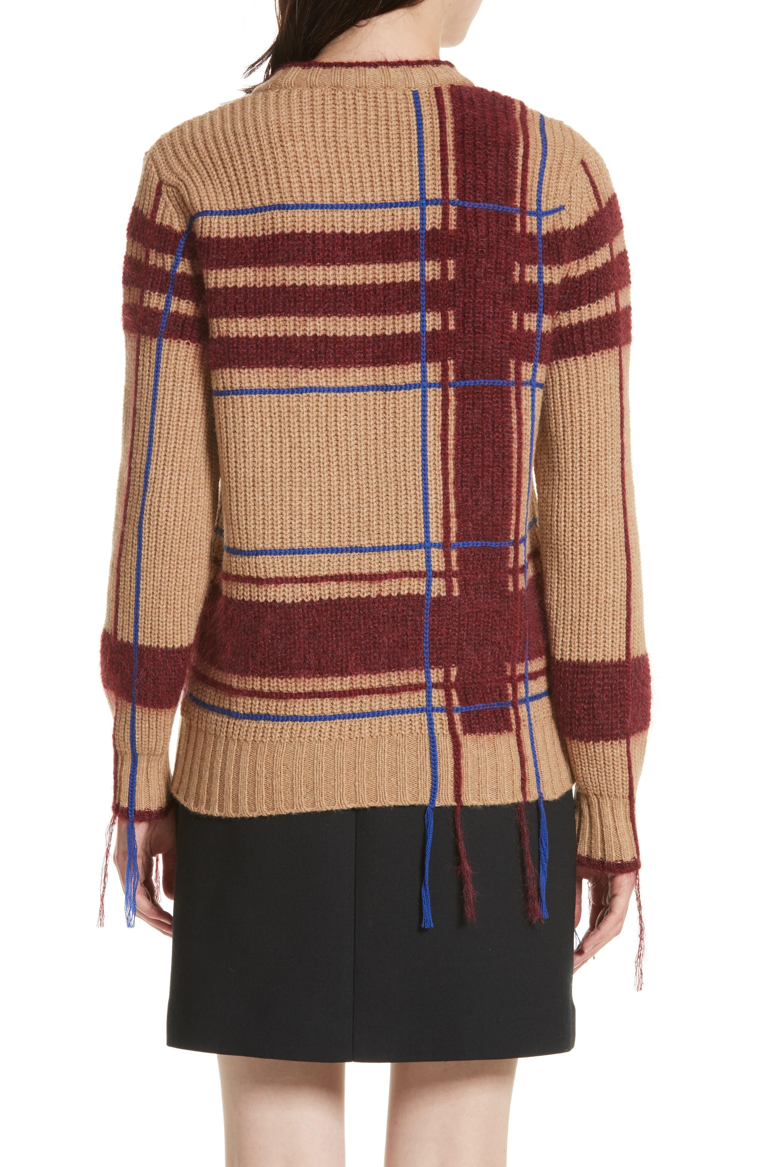 Eden Plaid Sweater,                             Alternate thumbnail 2, color,                             250