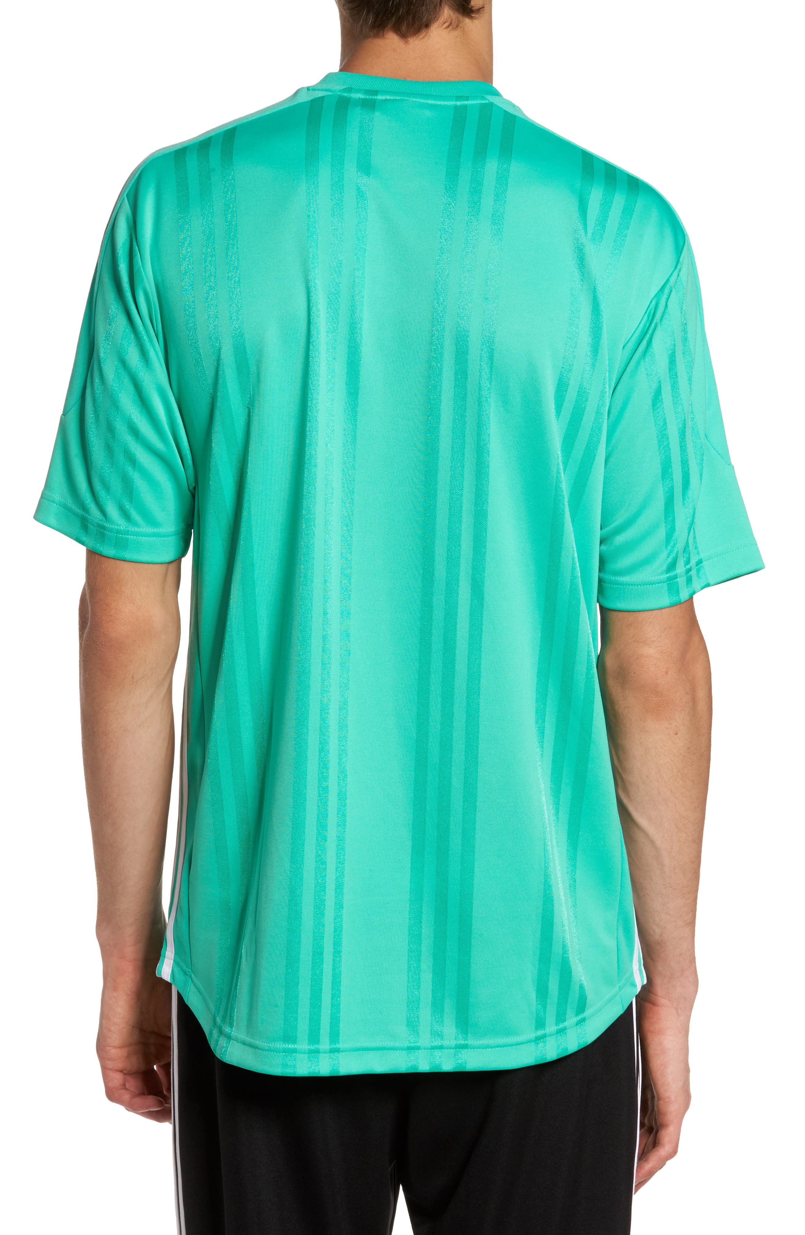 Originals Jacquard Stripe T-Shirt,                             Alternate thumbnail 5, color,