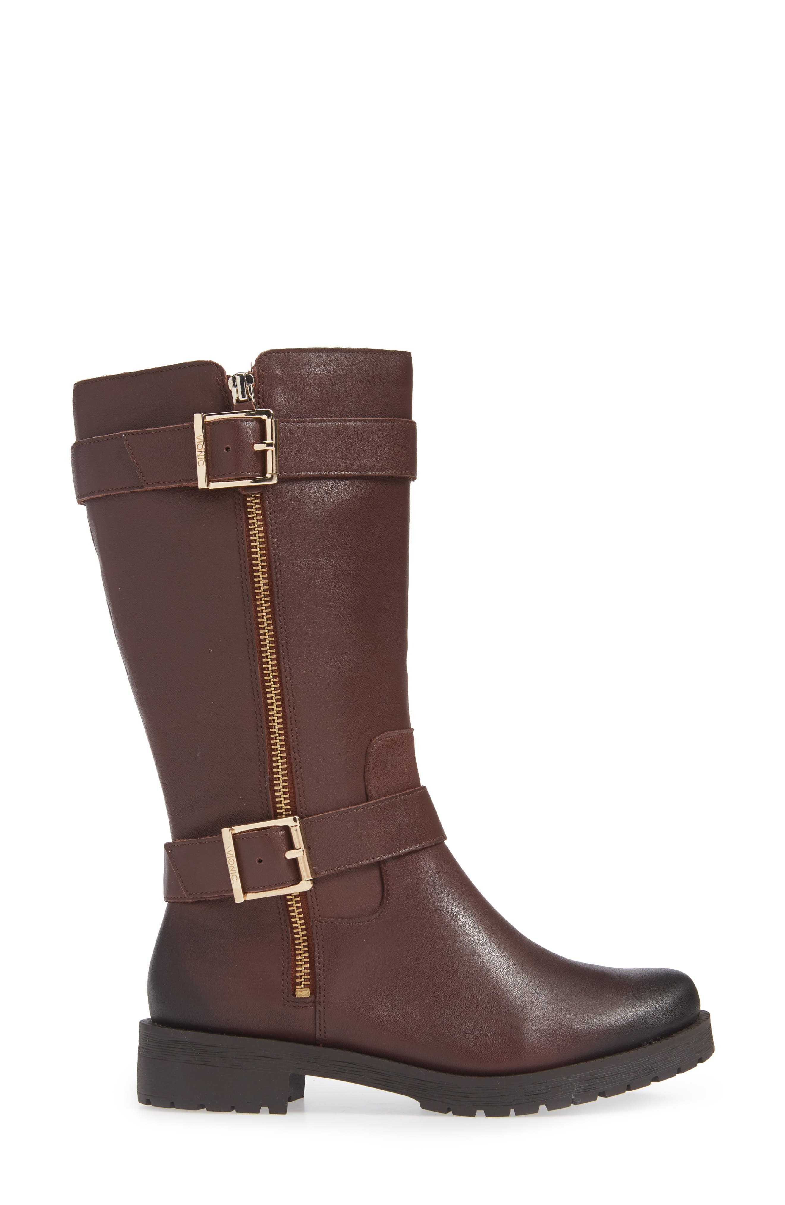 Marlow Boot,                             Alternate thumbnail 3, color,                             CHOCOLATE LEATHER