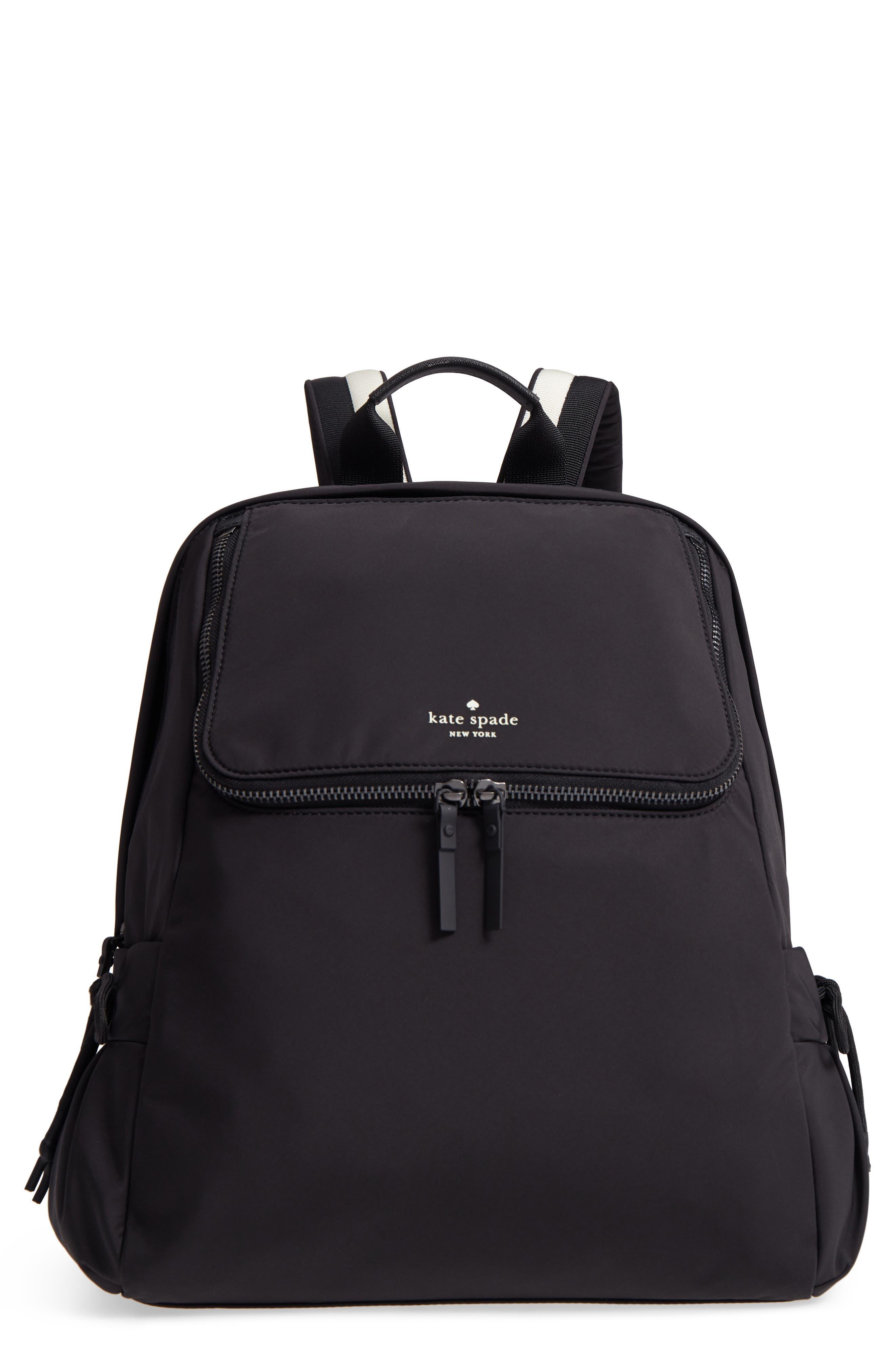 that's the spirit nylon backpack,                             Main thumbnail 1, color,                             BLACK