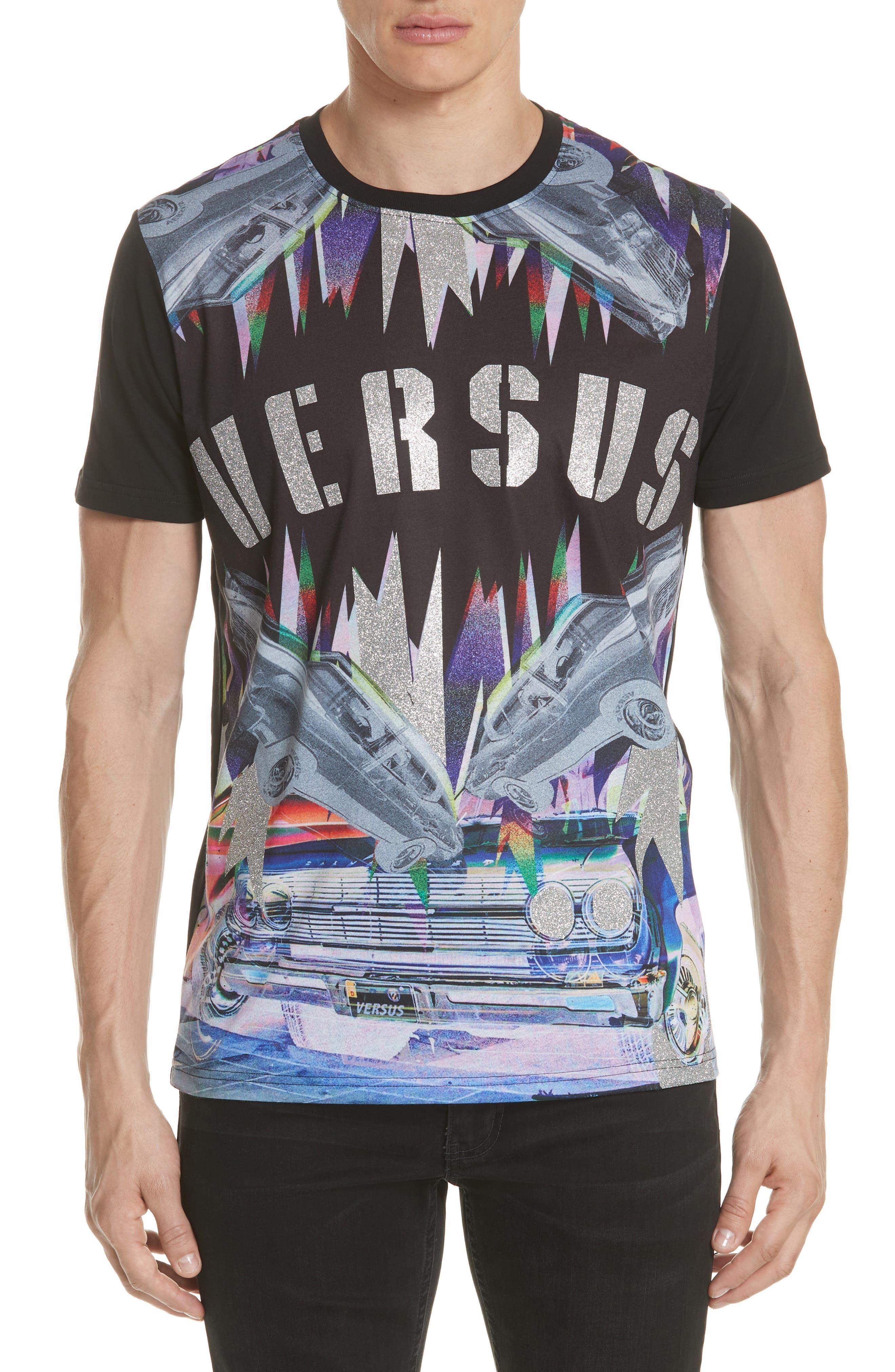 Uomo Print T-Shirt,                         Main,                         color,