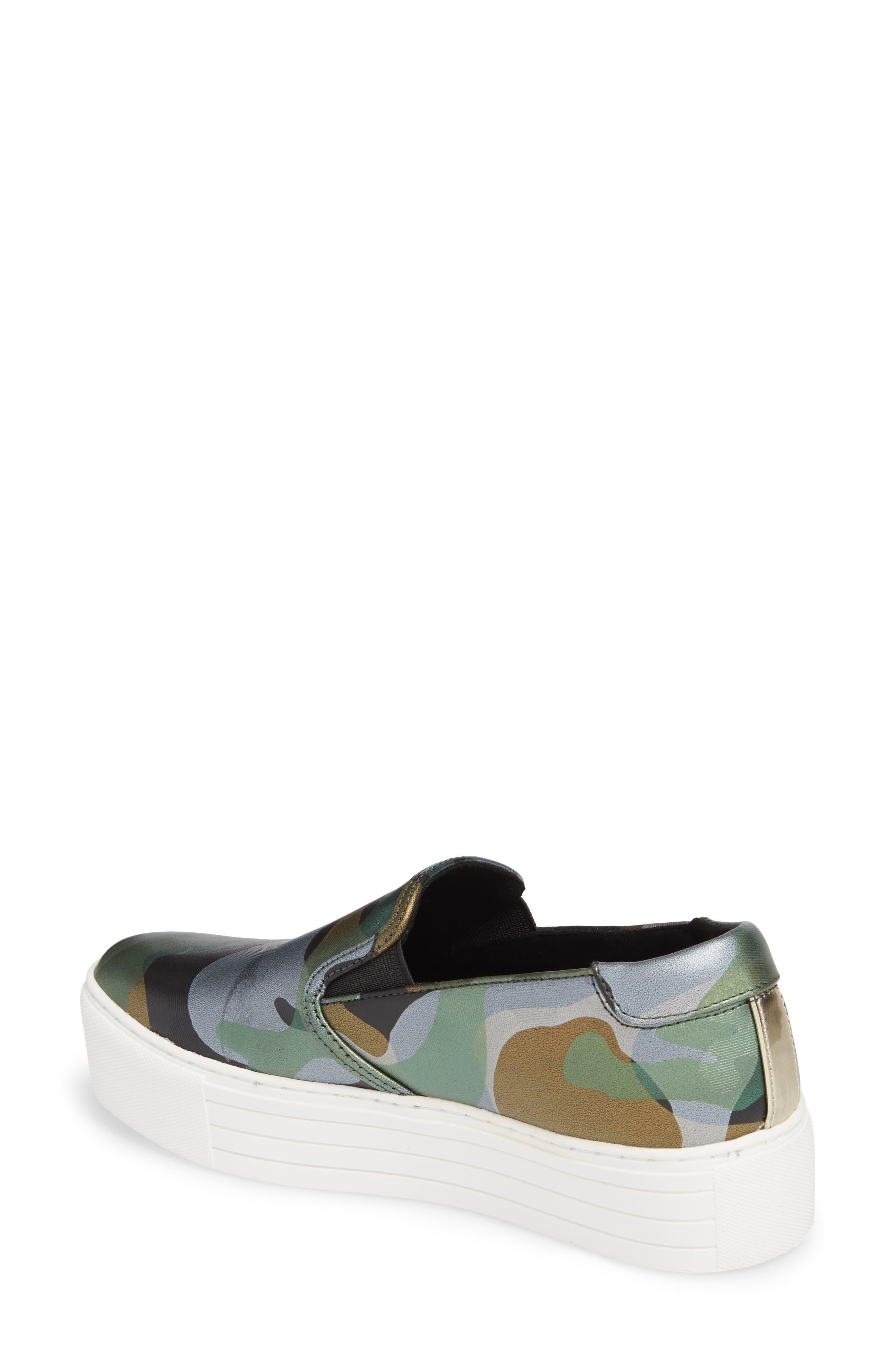 Joanie Slip-On Platform Sneaker,                             Alternate thumbnail 14, color,