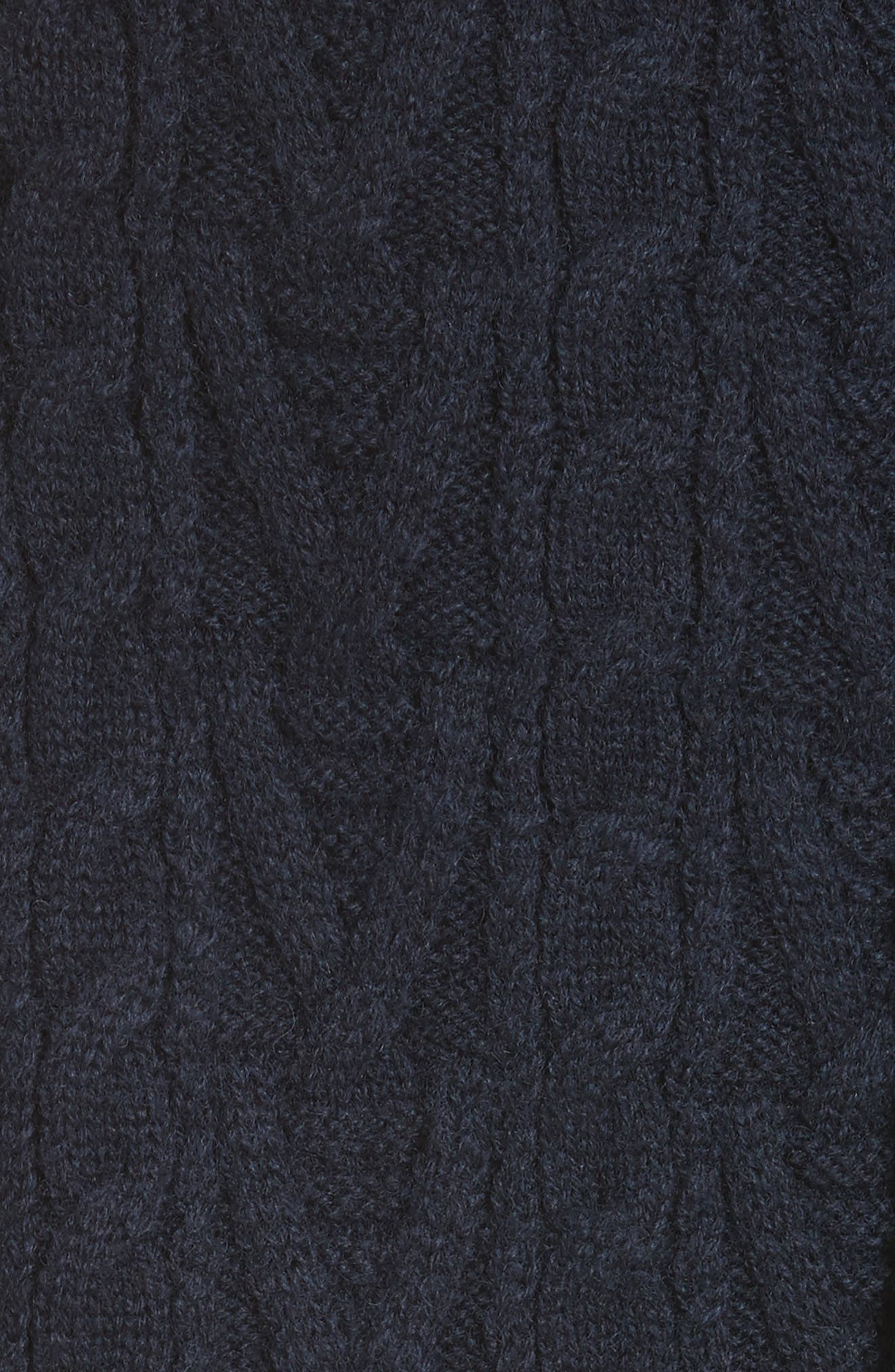 Button Back Stripe Sweater,                             Alternate thumbnail 5, color,                             410