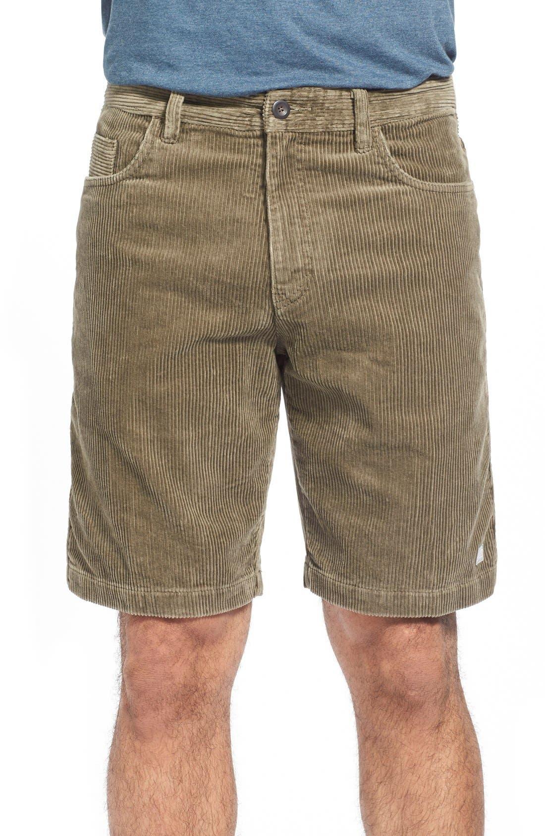 Kordo Corduroy Walking Shorts,                             Main thumbnail 3, color,