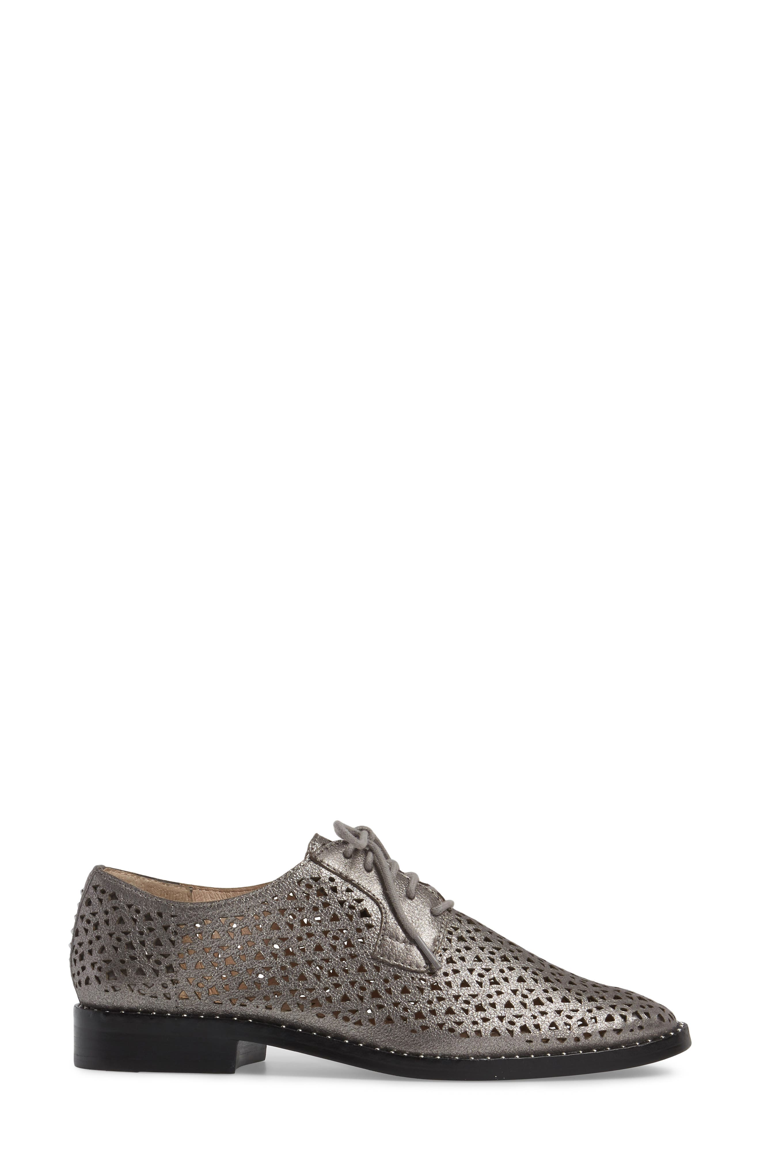 Lesta Geo Perforated Oxford,                             Alternate thumbnail 13, color,