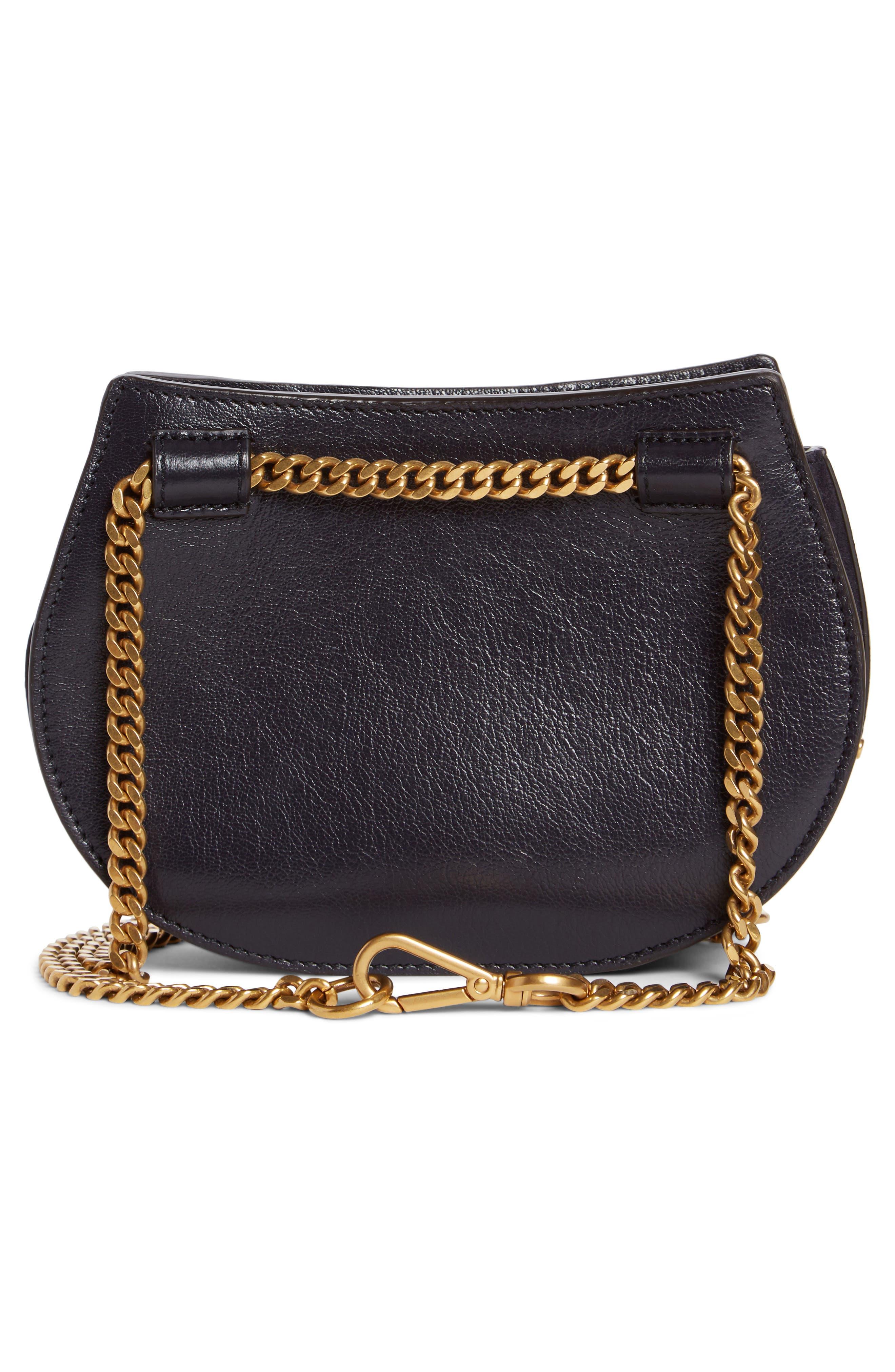 Micro Pixie Leather Top Handle Satchel,                             Alternate thumbnail 3, color,