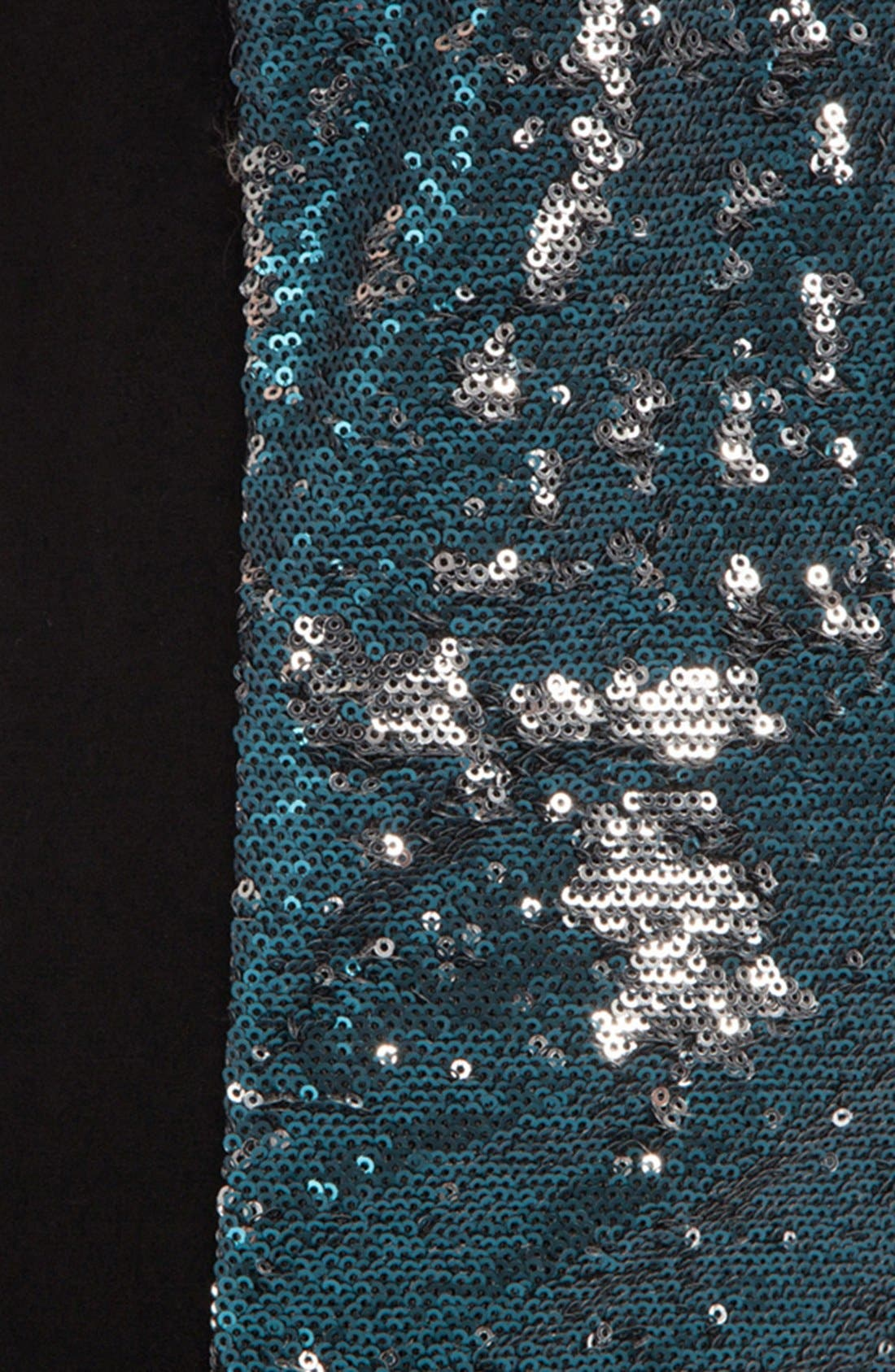MAJE,                             'Dallias' Sequin Front Cutaway Tank,                             Alternate thumbnail 2, color,                             400
