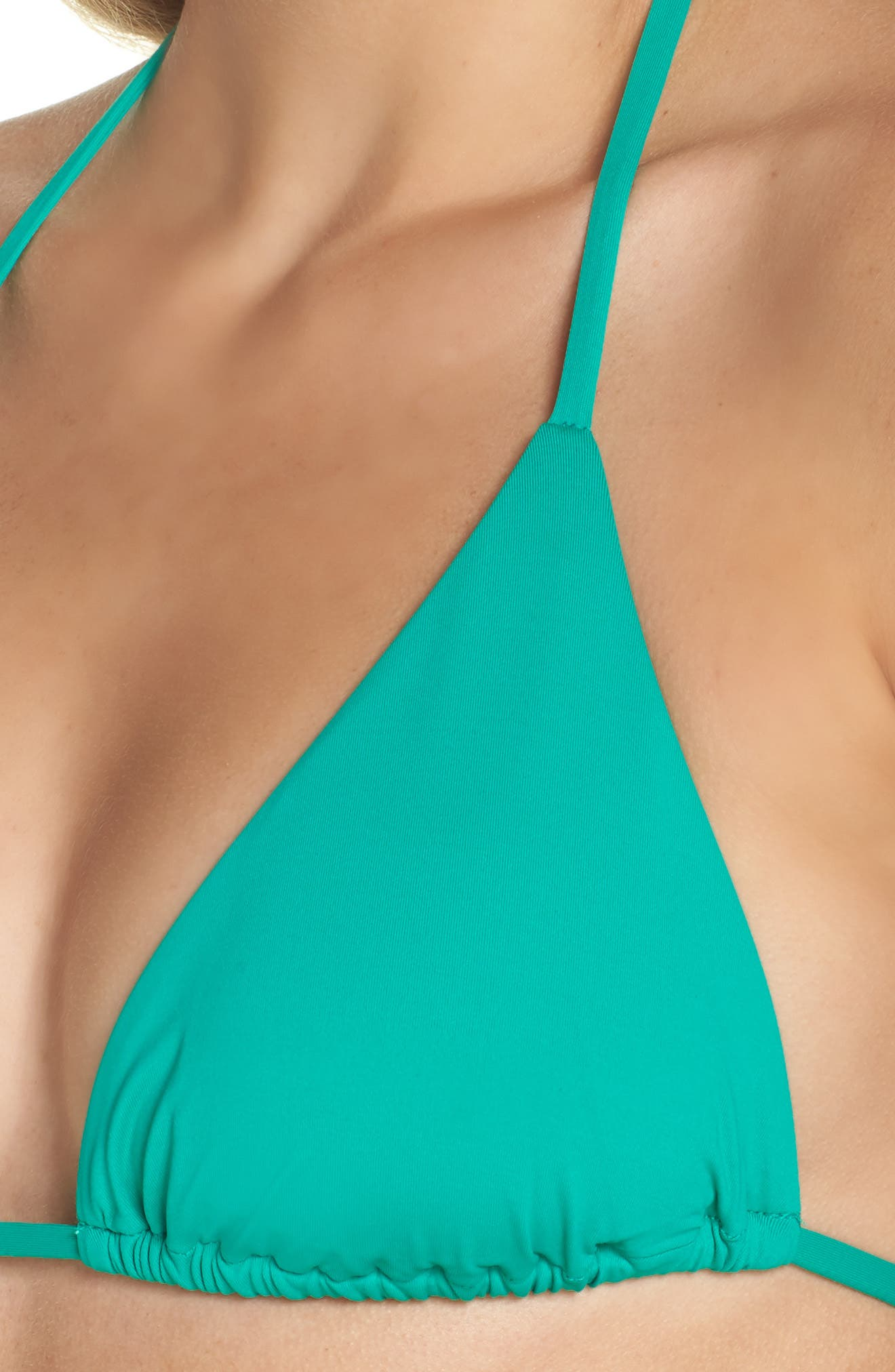 BECCA,                             Color Code Triangle Bikini Top,                             Alternate thumbnail 4, color,                             300