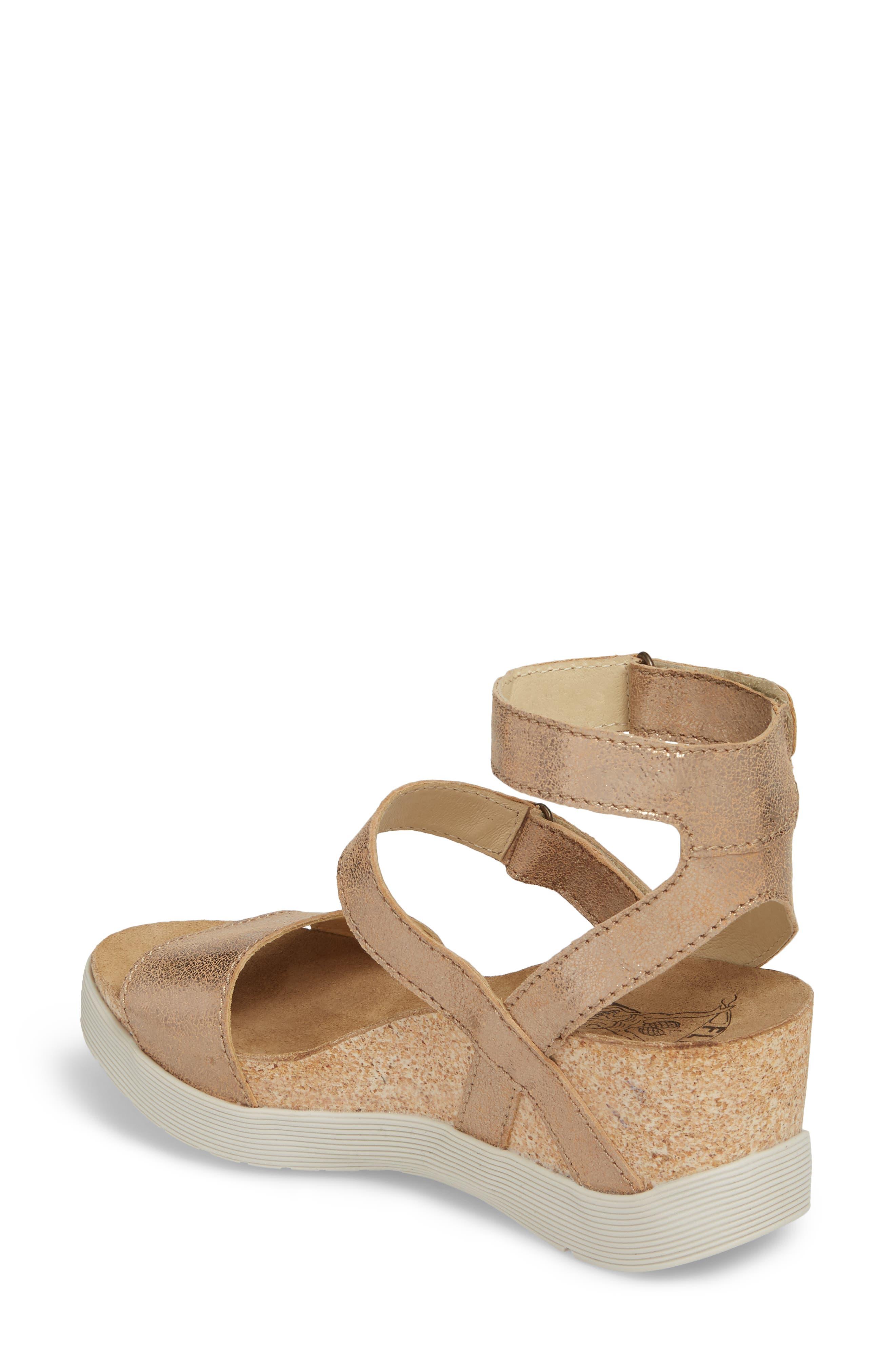 Wink Platform Sandal,                             Alternate thumbnail 2, color,                             LUNA COOL LEATHER
