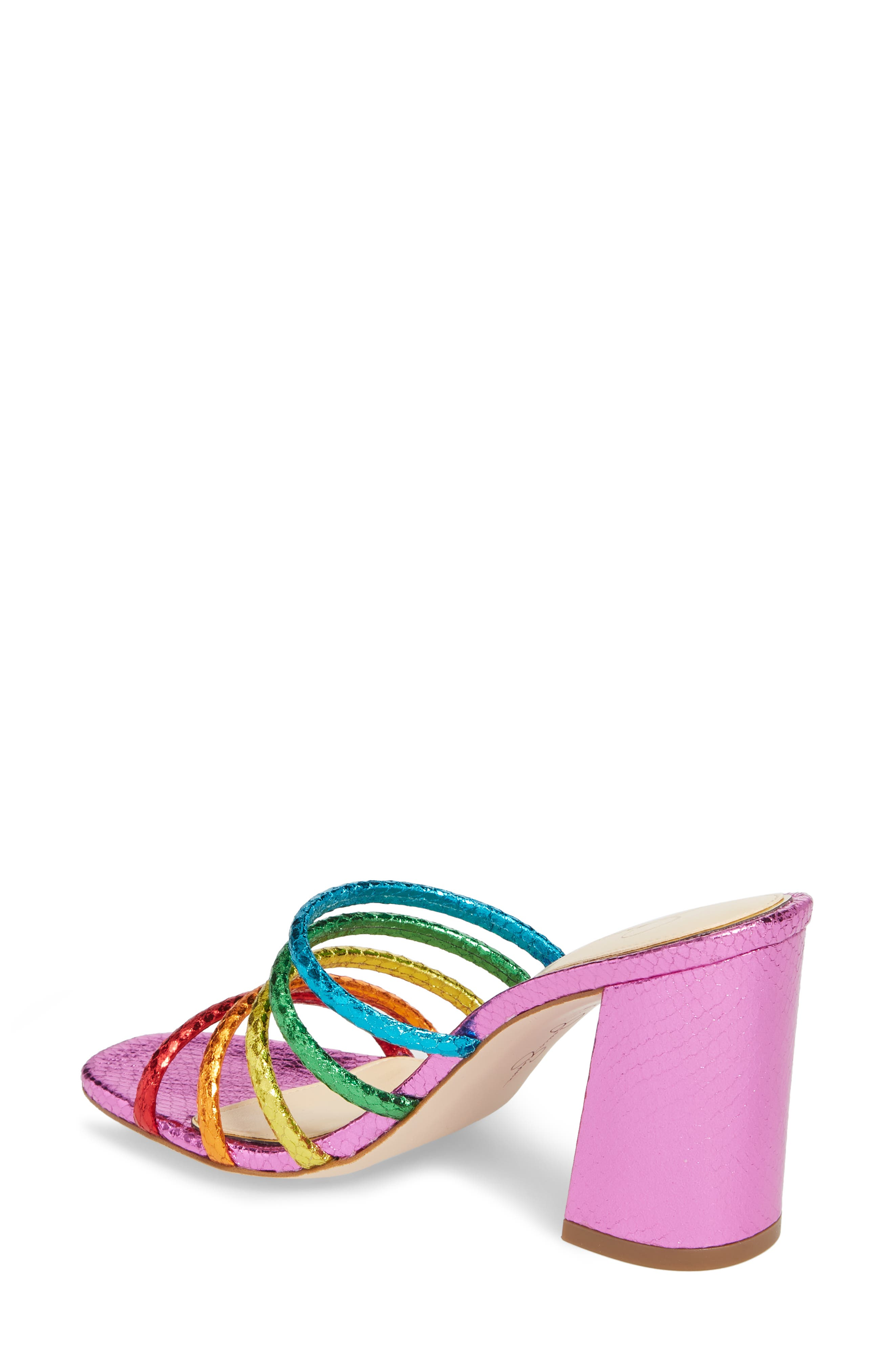 Fixton Strappy Slide Sandal,                             Alternate thumbnail 4, color,