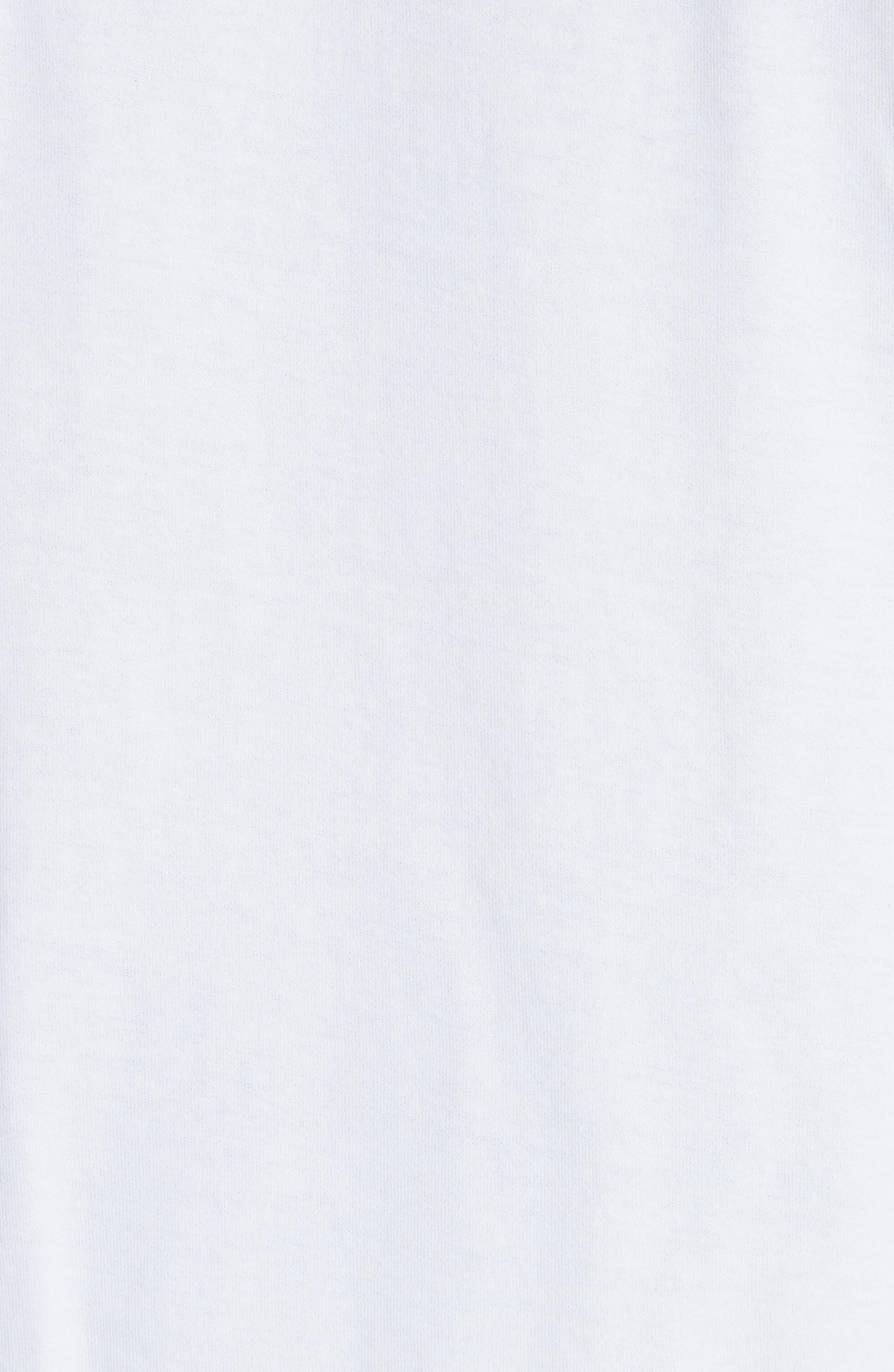 Niave Flower Graphic T-Shirt,                             Alternate thumbnail 5, color,                             100