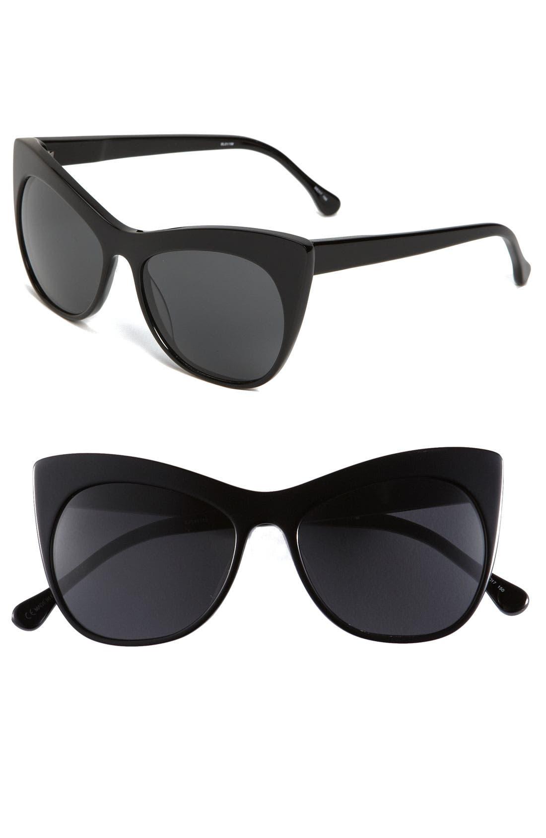 'Lafayette' 55mm Sunglasses,                             Main thumbnail 1, color,                             001