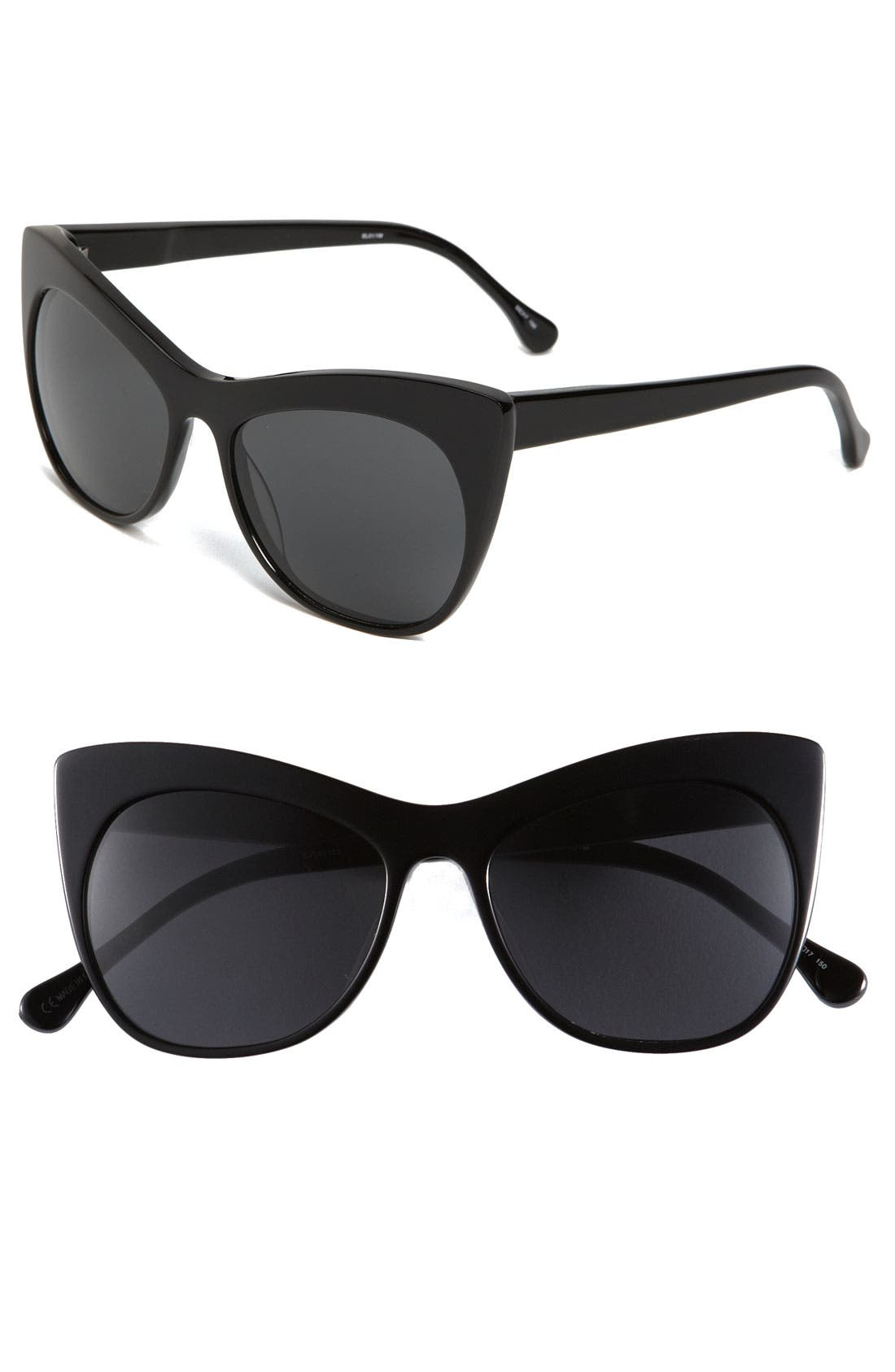 'Lafayette' 55mm Sunglasses,                         Main,                         color, 001