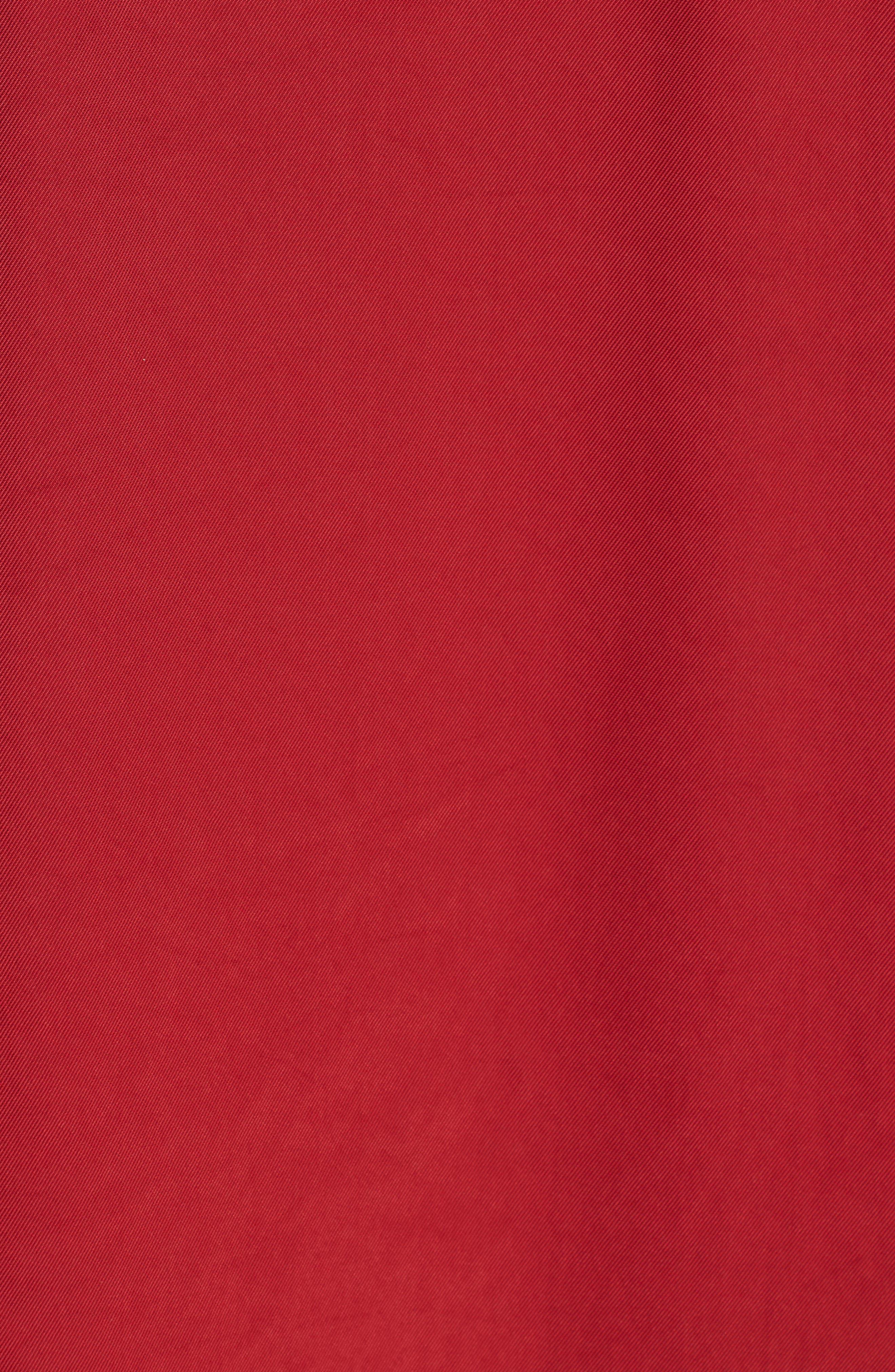 Mixed Media Shift Dress,                             Alternate thumbnail 6, color,                             RED