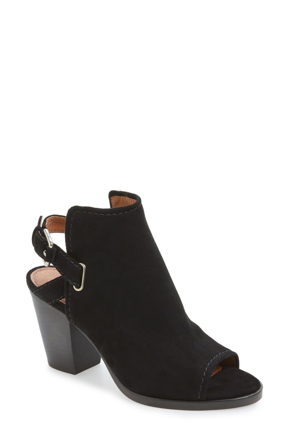 FRYE 'Dani Shield' Sandal, Main, color, 001