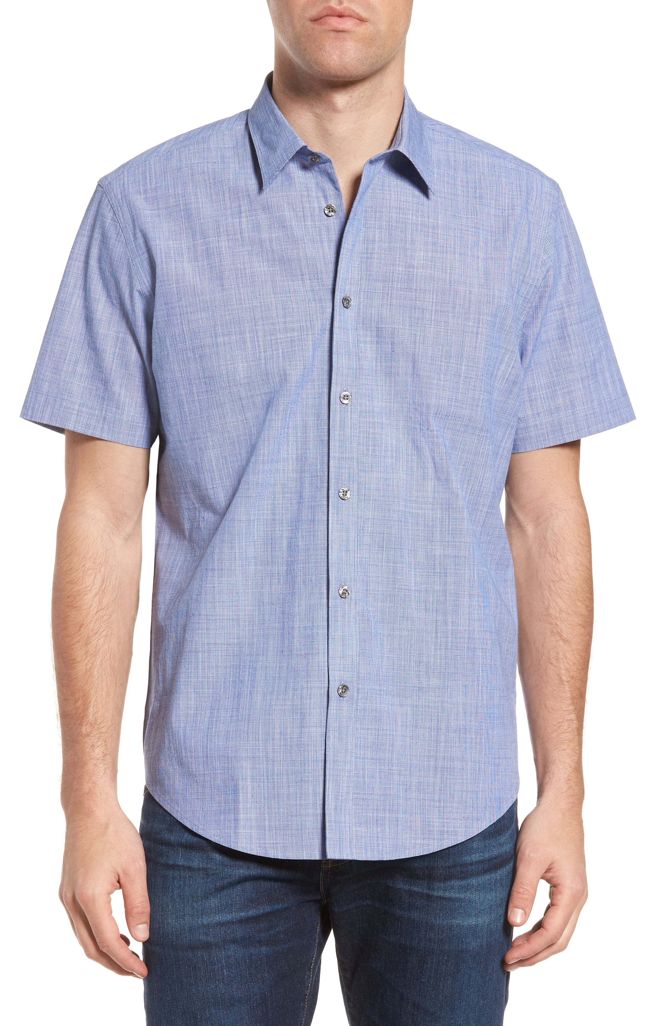 Savas Regular Fit Sport Shirt,                             Main thumbnail 1, color,                             422
