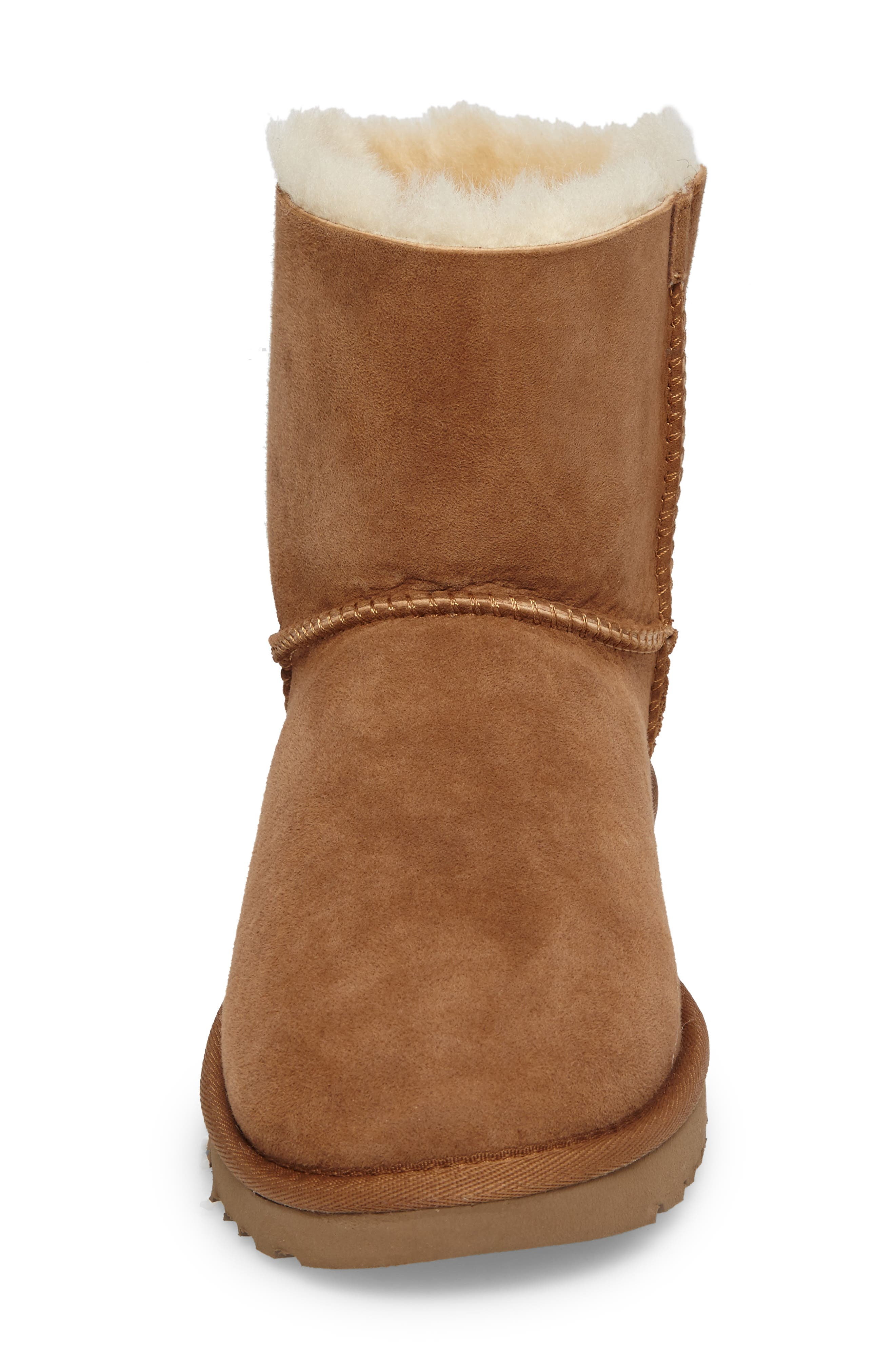 Arielle Genuine Shearling Bootie,                             Alternate thumbnail 11, color,