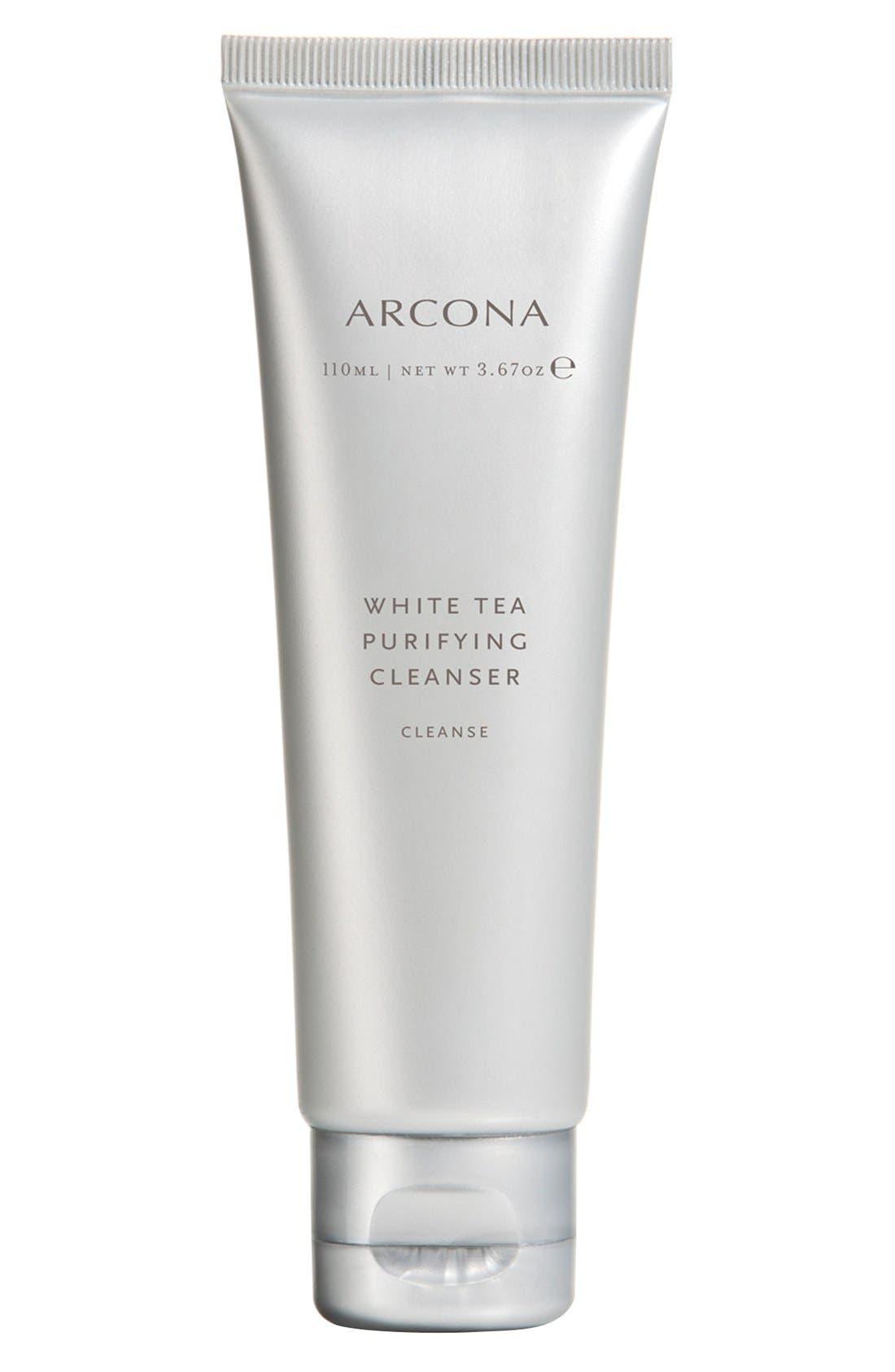 White Tea Purifying Cleanser,                             Main thumbnail 1, color,                             NO COLOR