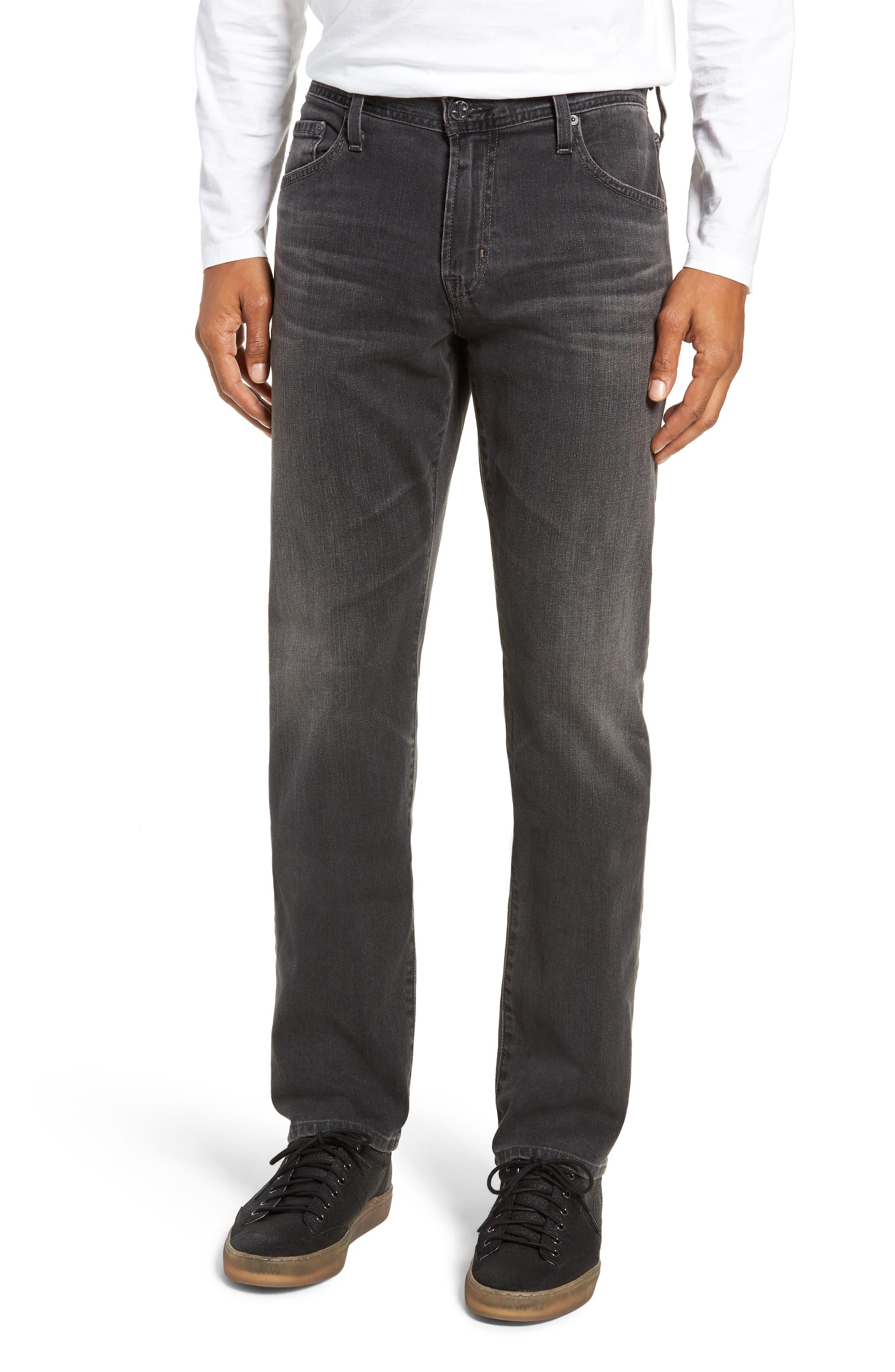 Graduate Slim Straight Leg Jeans,                             Main thumbnail 1, color,                             6 YEARS ARCADE