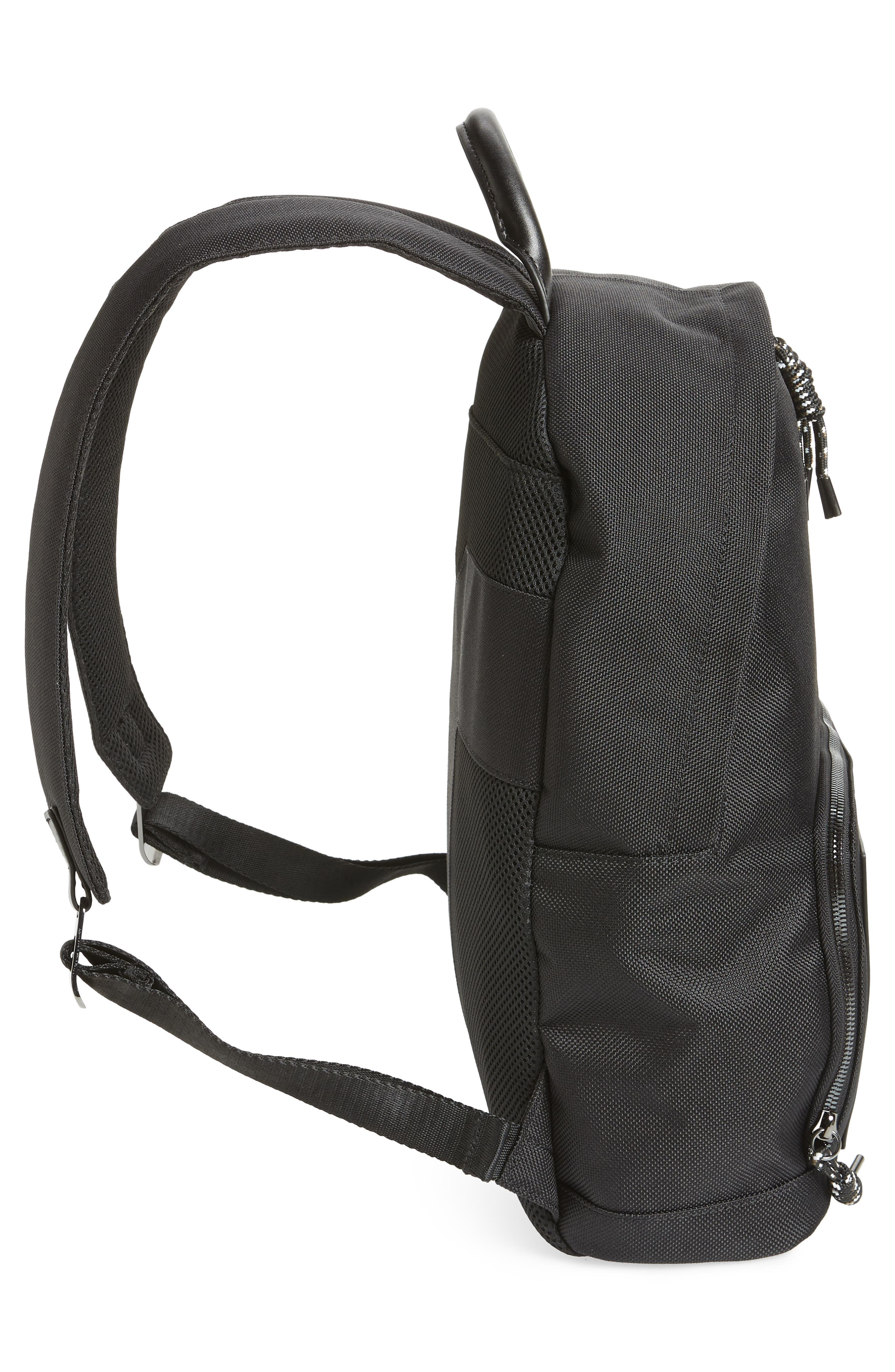 Filer Backpack,                             Alternate thumbnail 5, color,                             BLACK