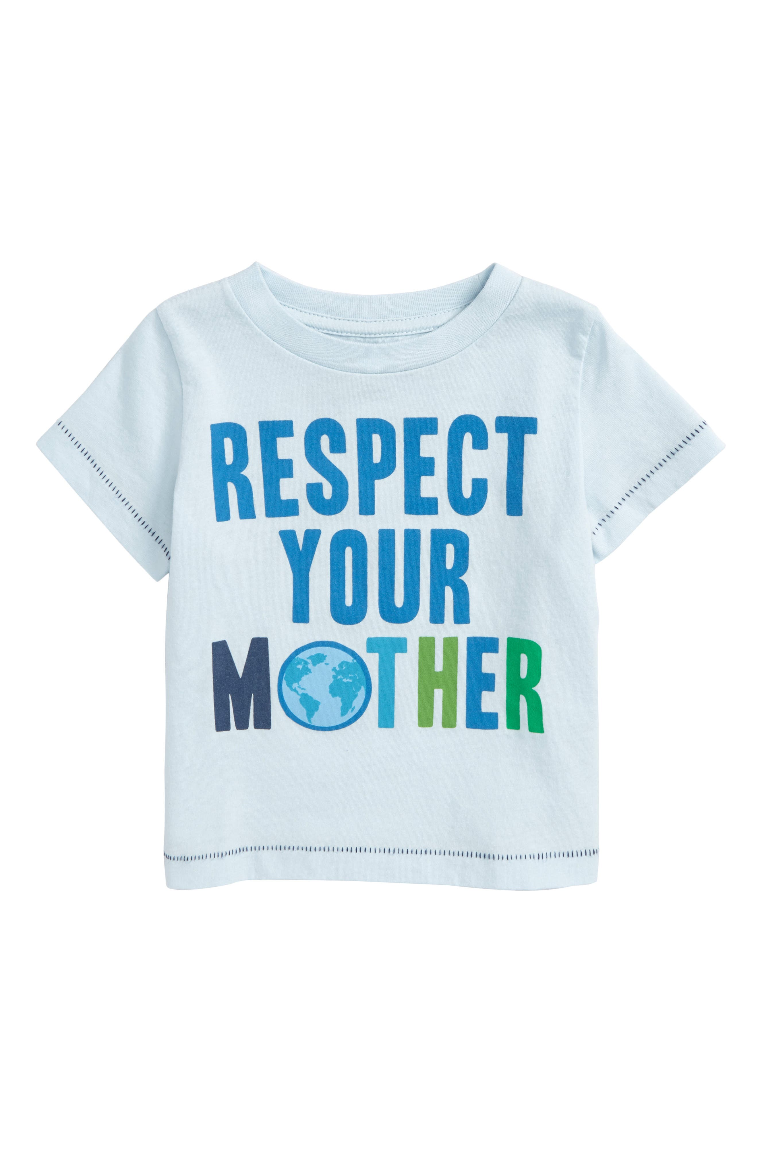 Peek Respect Your Mother Graphic T-Shirt,                             Main thumbnail 1, color,                             400