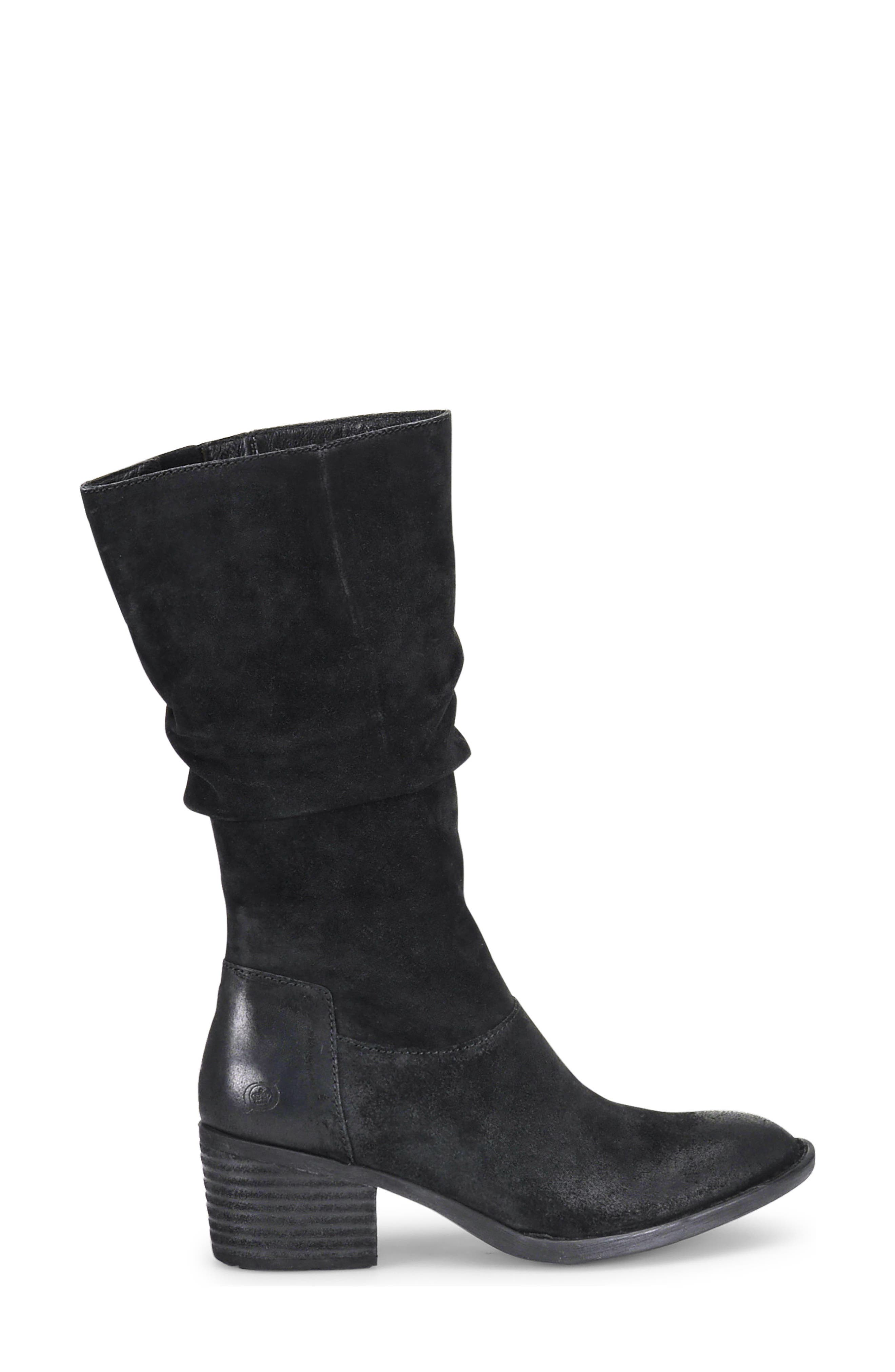 BØRN,                             Peavy Slouch Boot,                             Alternate thumbnail 3, color,                             001